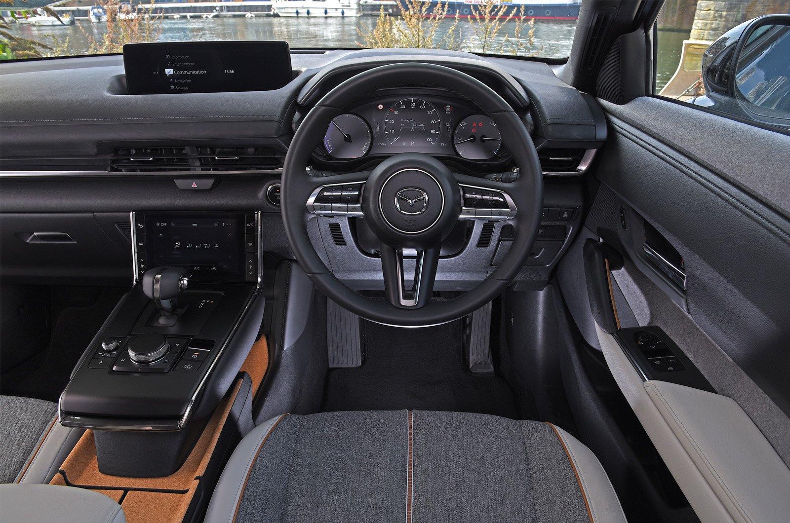 MX-30 long-term interior