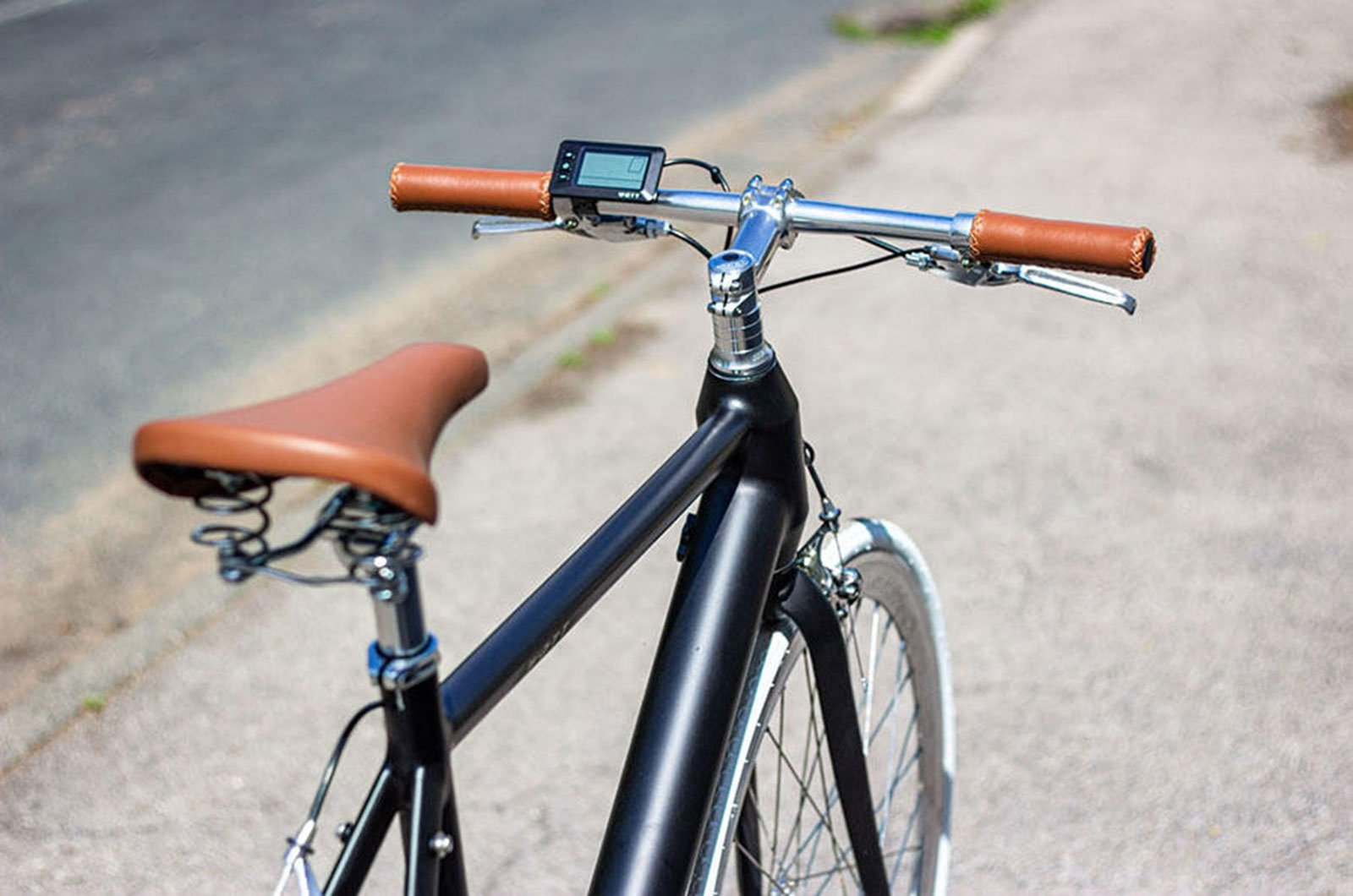 Selim Fixie e-bike de Nova York