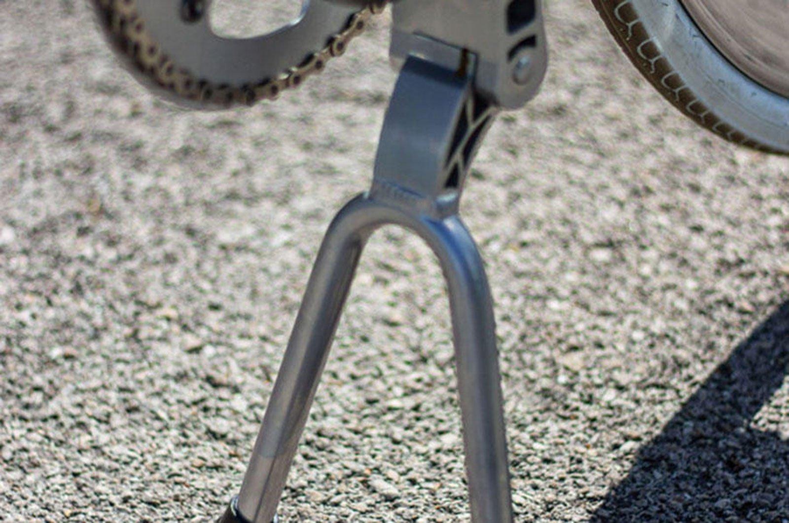 Estande da Fixie e-Bike de Nova York
