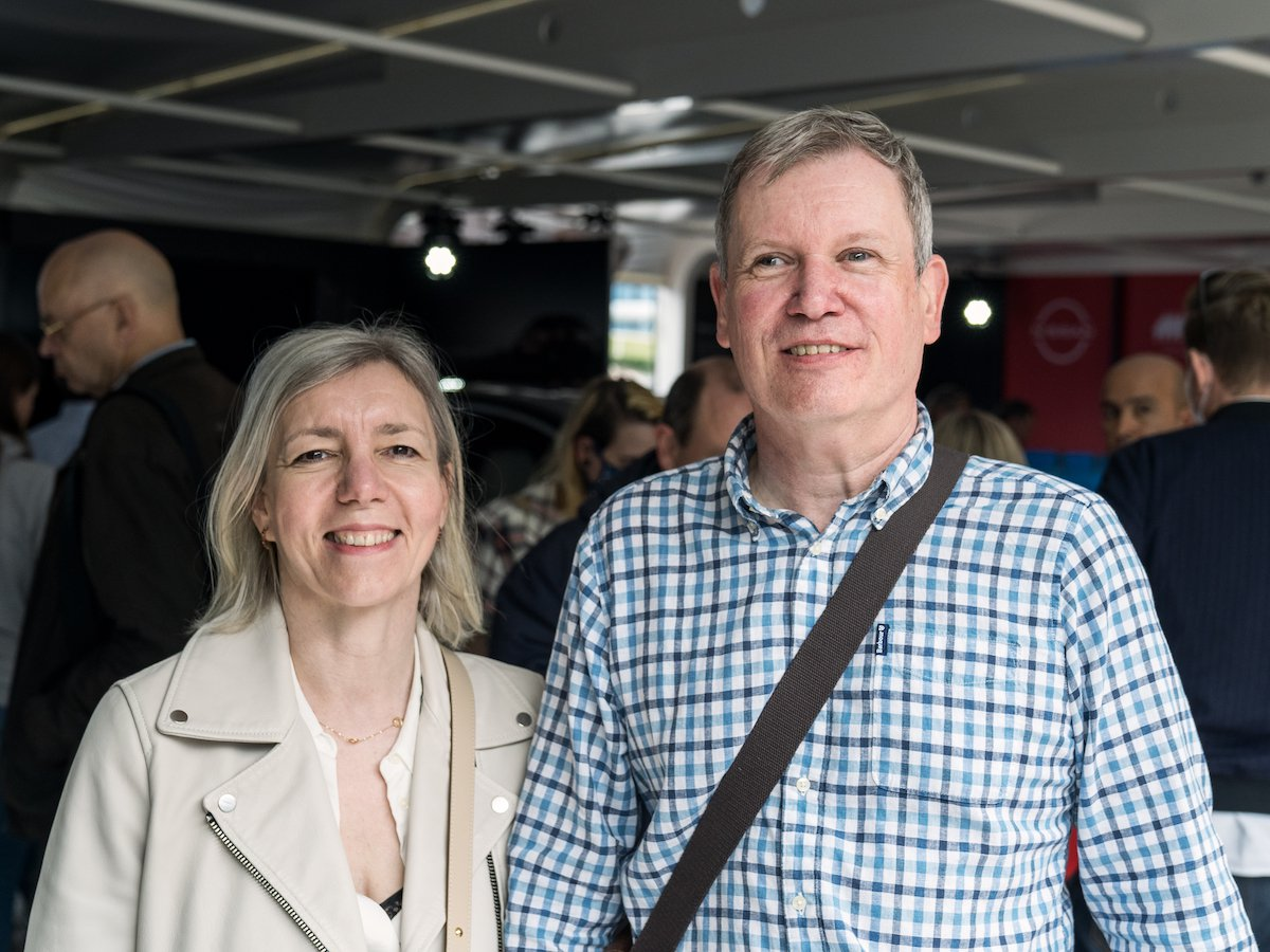 Keith and Suzanne Ridgeway