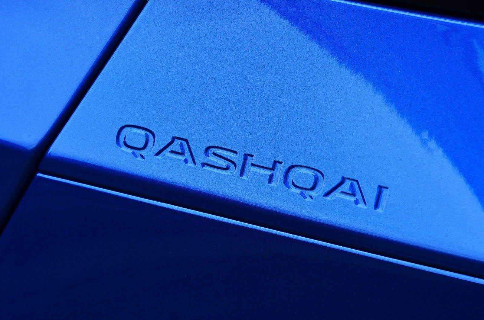 Nissan Qashqai 2021 boot badge