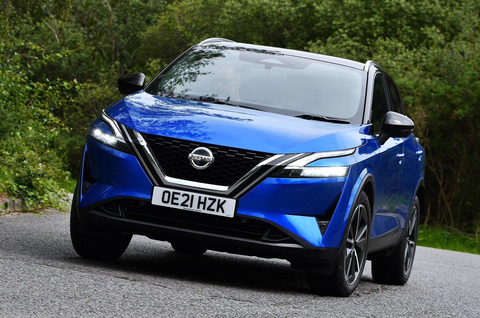Nissan Qashqai 2021 nose