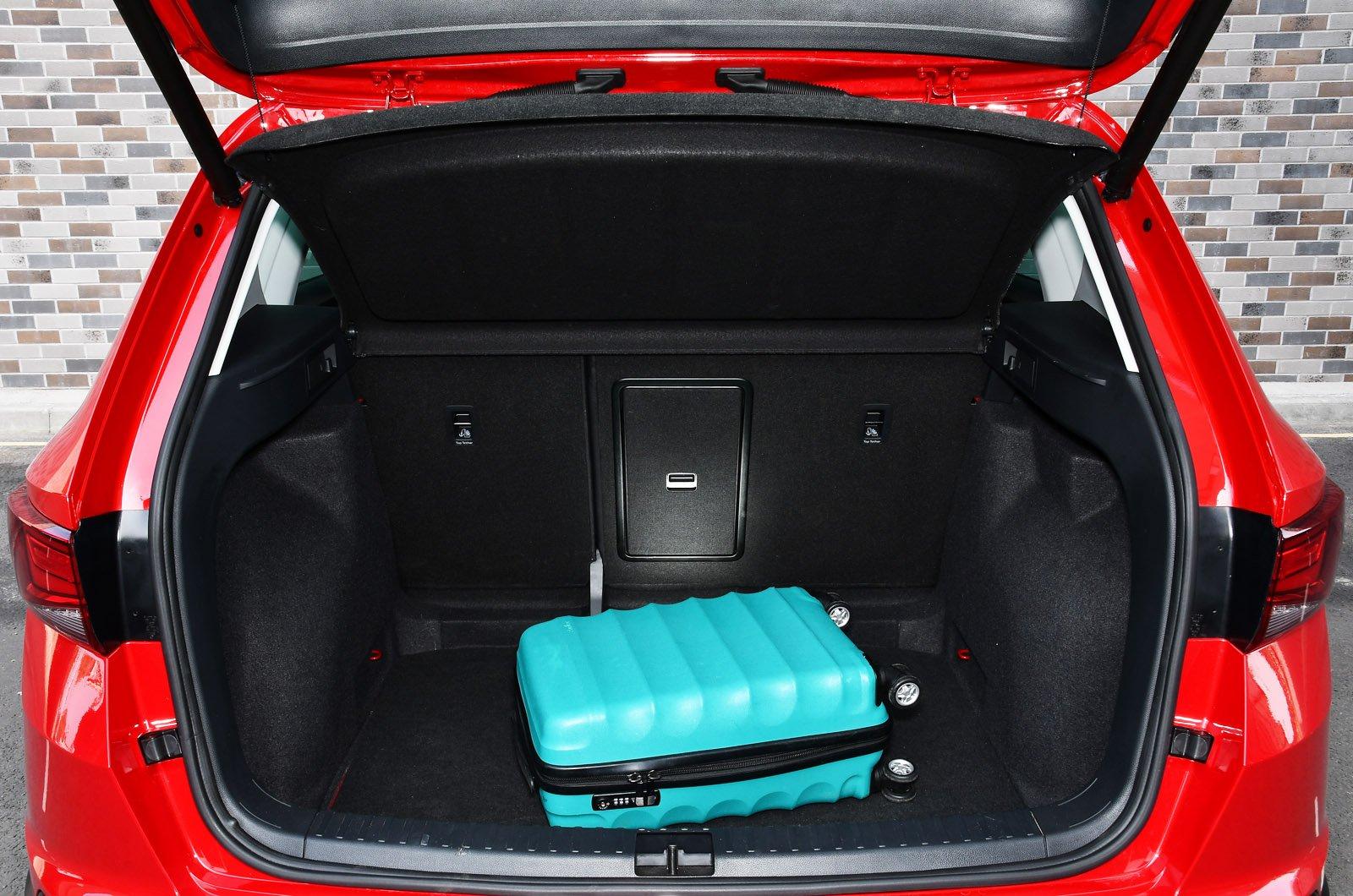 Seat Ateca 2021 boot