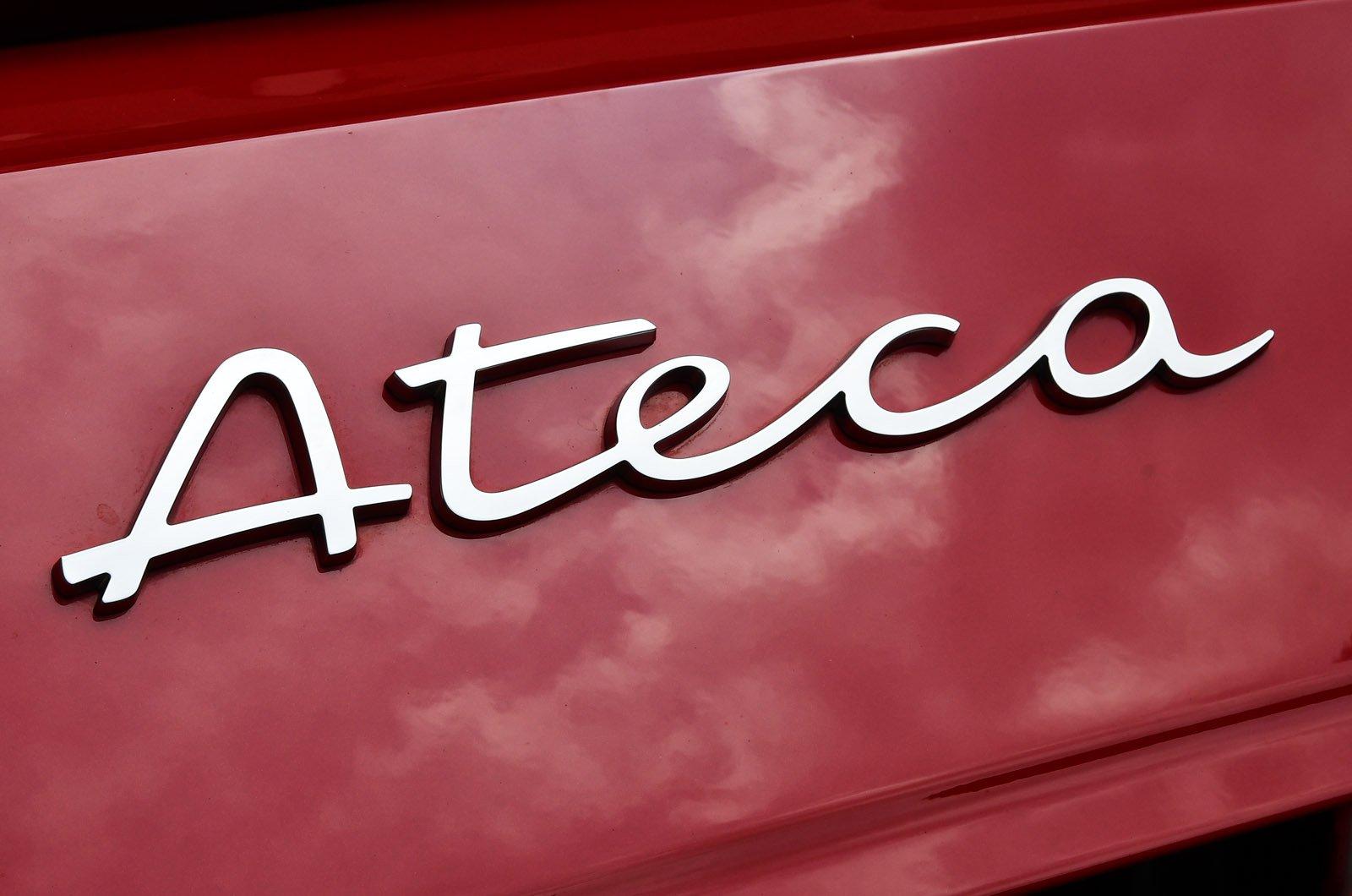 Seat Ateca 2021 boot badge