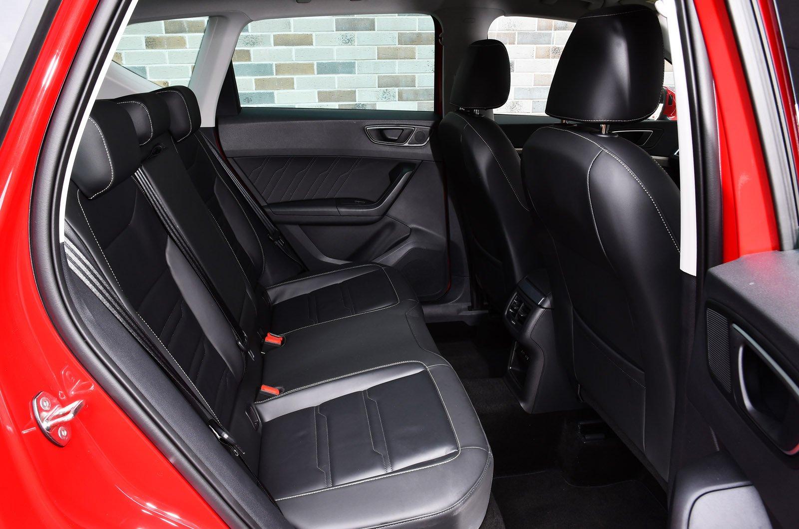 Seat Ateca 2021 rear seats