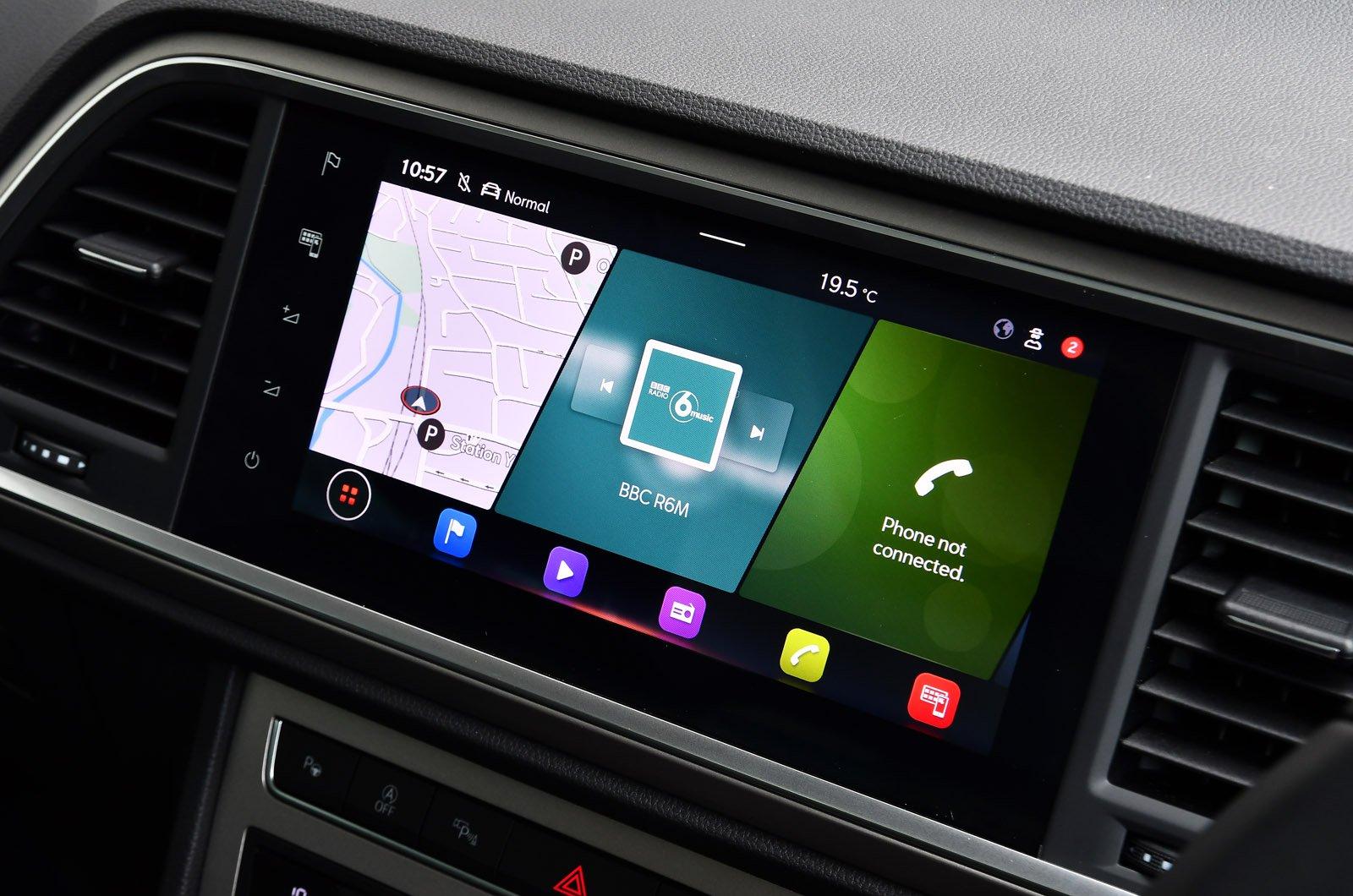Seat Ateca 2021 touchscreen