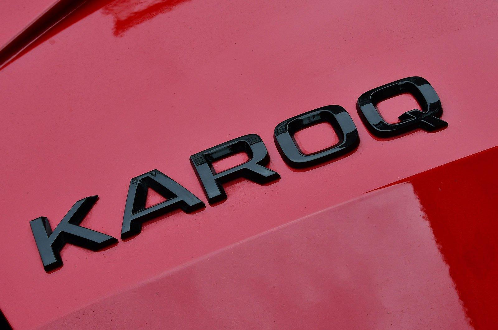 Skoda Karoq 2021 boot badge