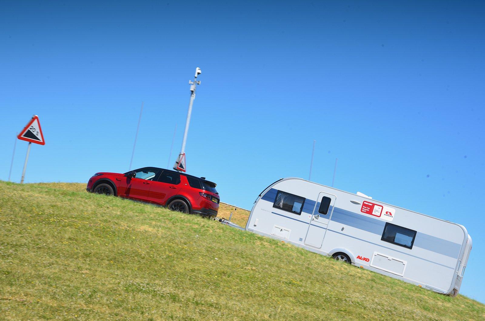 Tow Car Awards 2021 - hill test