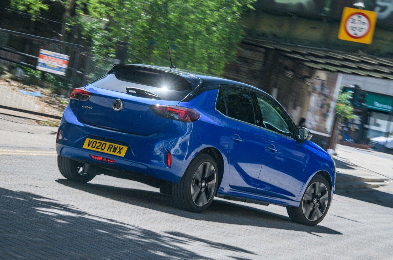 Vauxhall Corsa-e rear