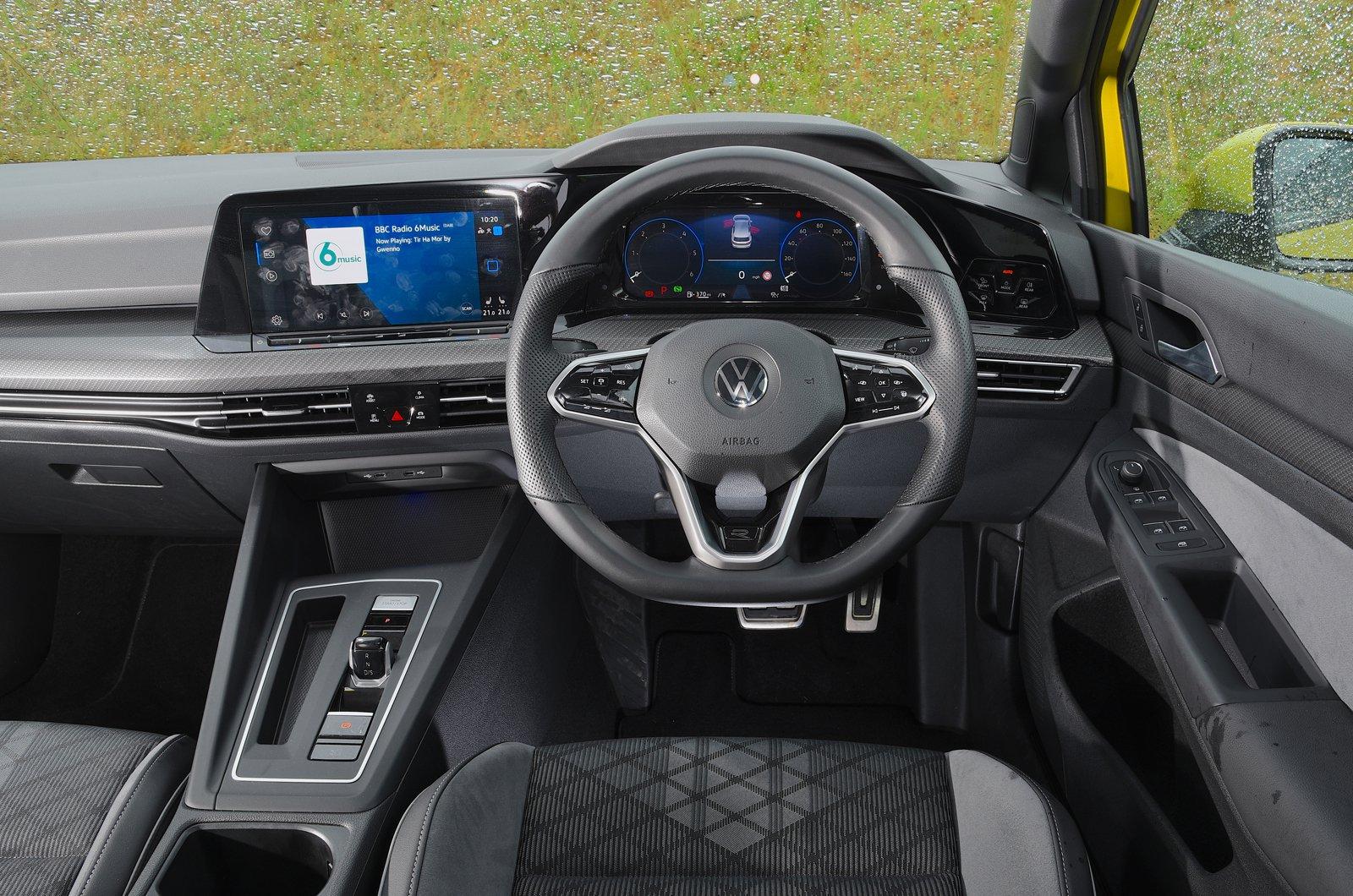 Painel do Volkswagen Golf