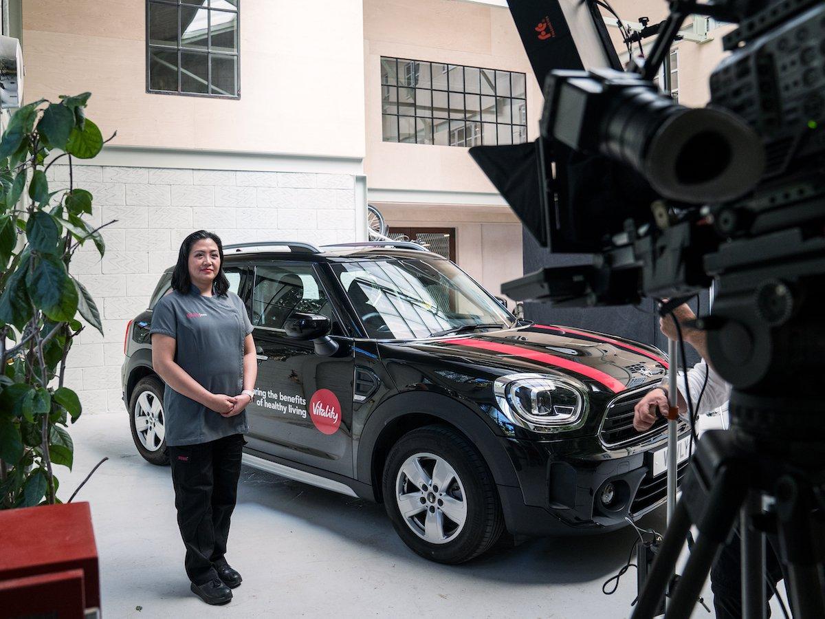 A Vitality está oferecendo um novo tipo de seguro automóvel, que realmente recompensa a boa direção