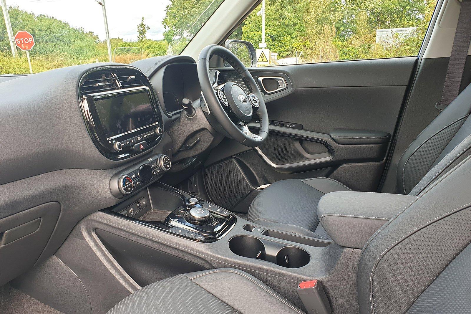 Kia Soul EV long-term front seats