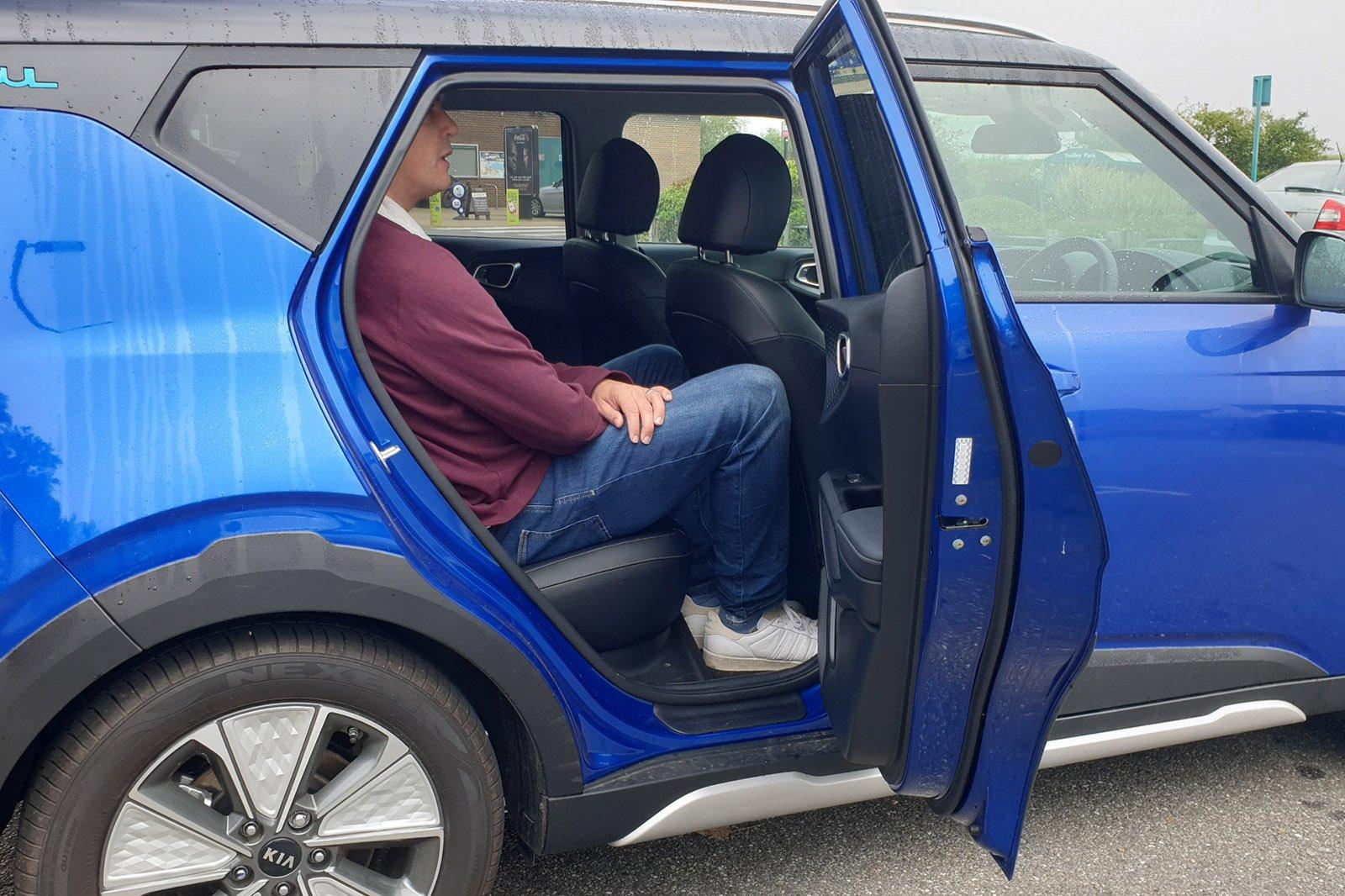 Kia Soul EV long-term rear seat space