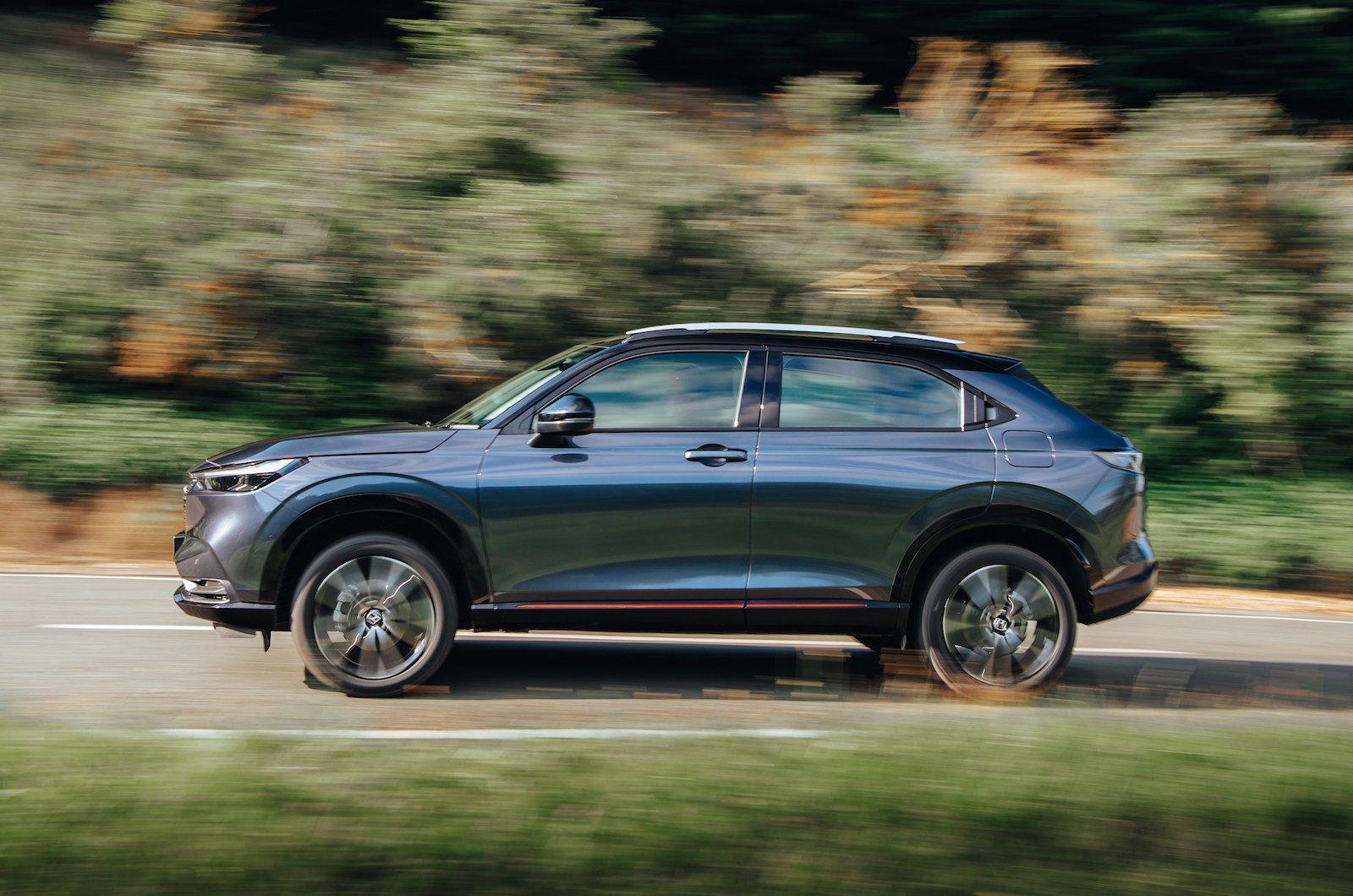 Honda HR-V 2021 left tracking