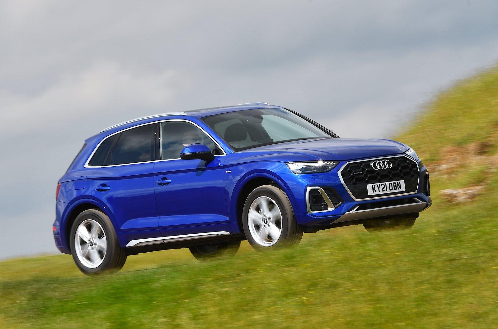 Audi Q5 2021 front pan