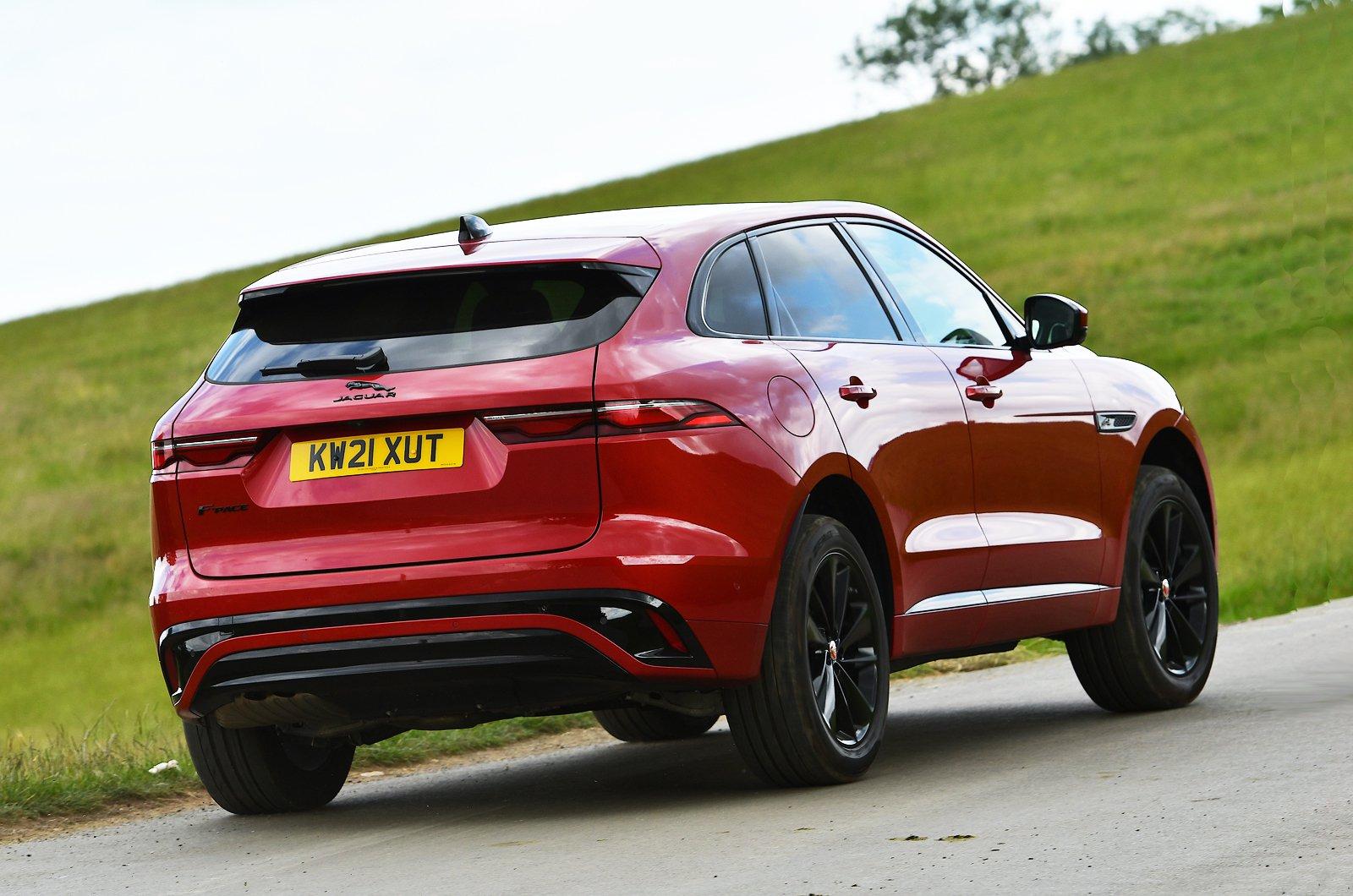 Jaguar F-Pace 2021 rear