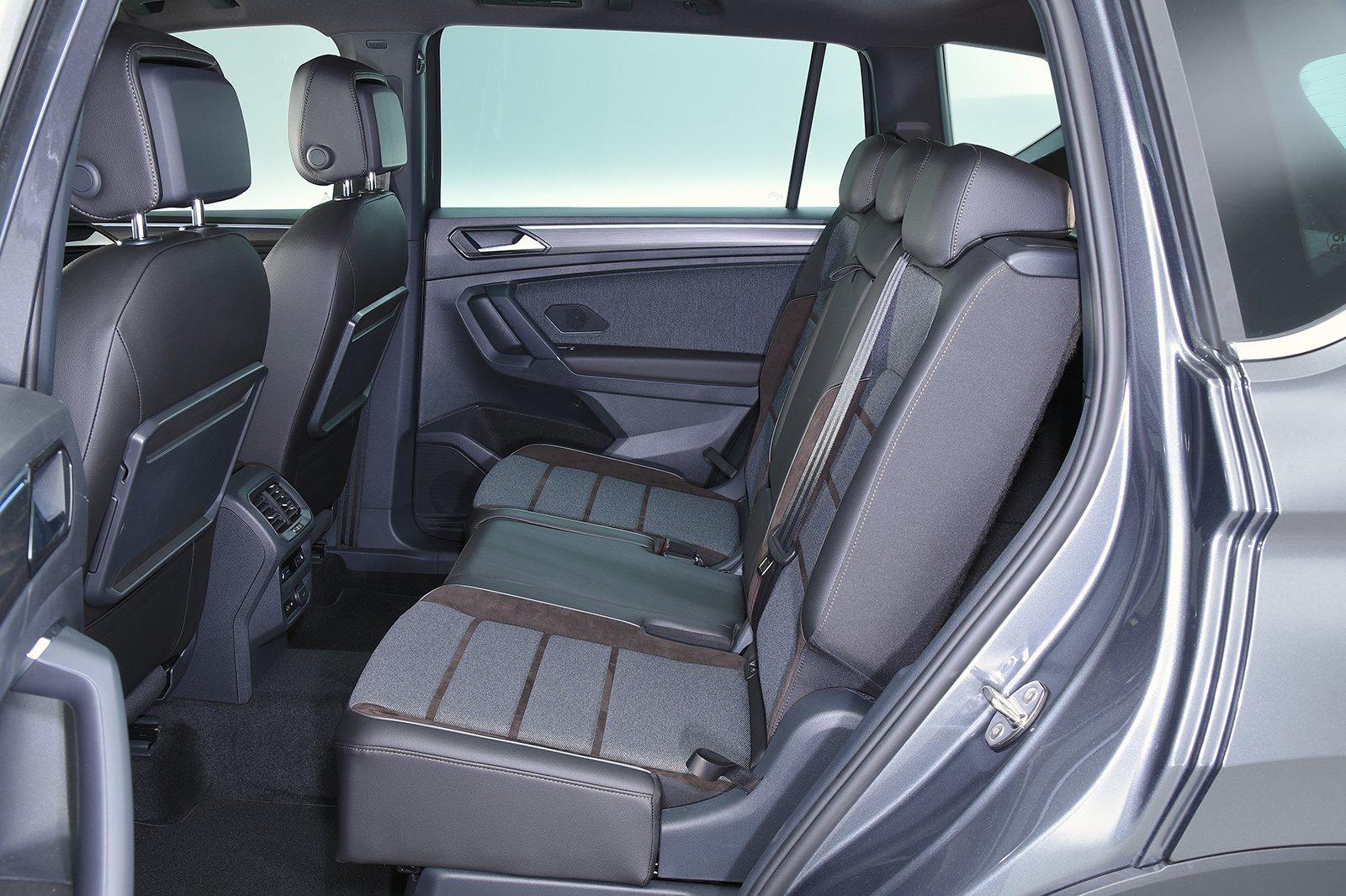 Seat Tarraco rear seats