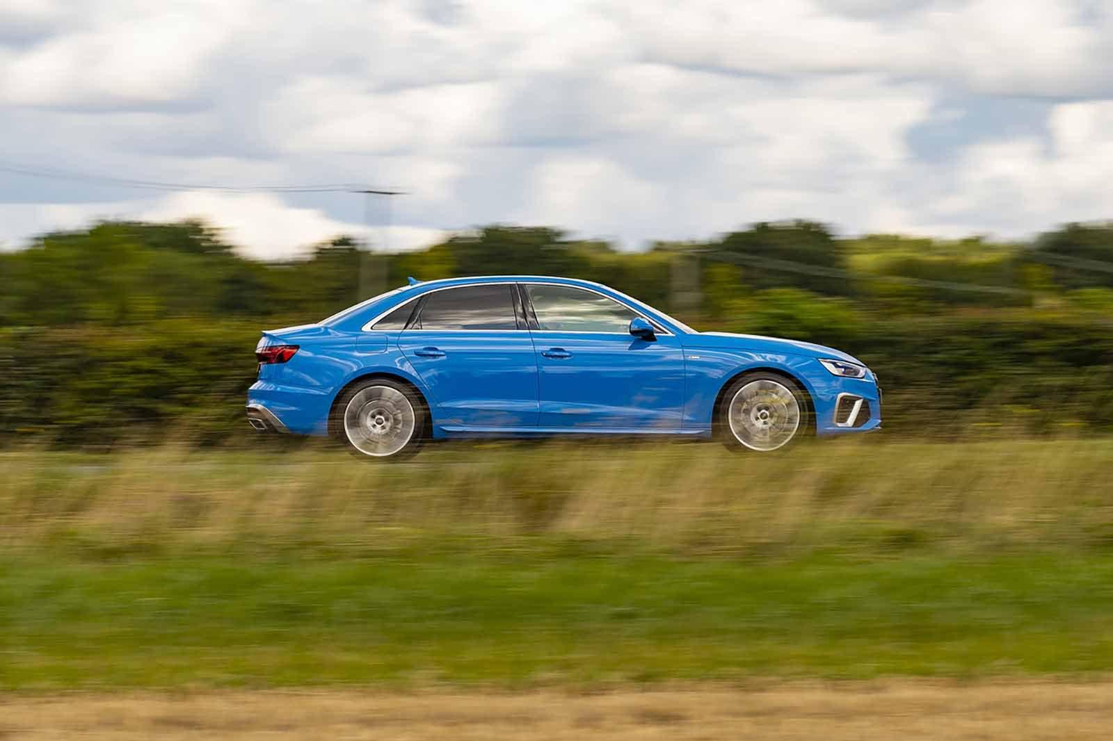 Audi A4 2019 RHD right side tracking