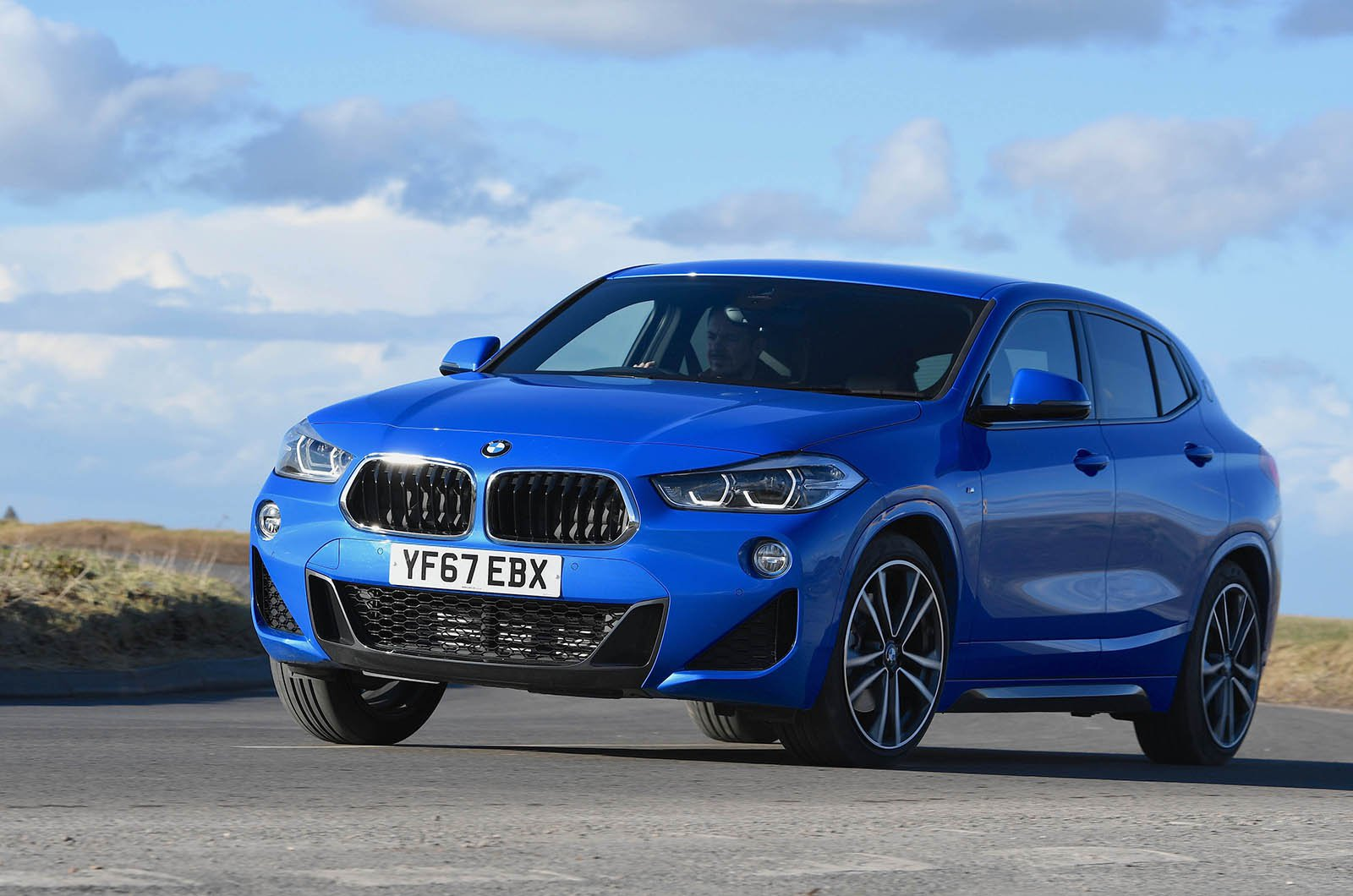 BMW X2 front - 67 plate