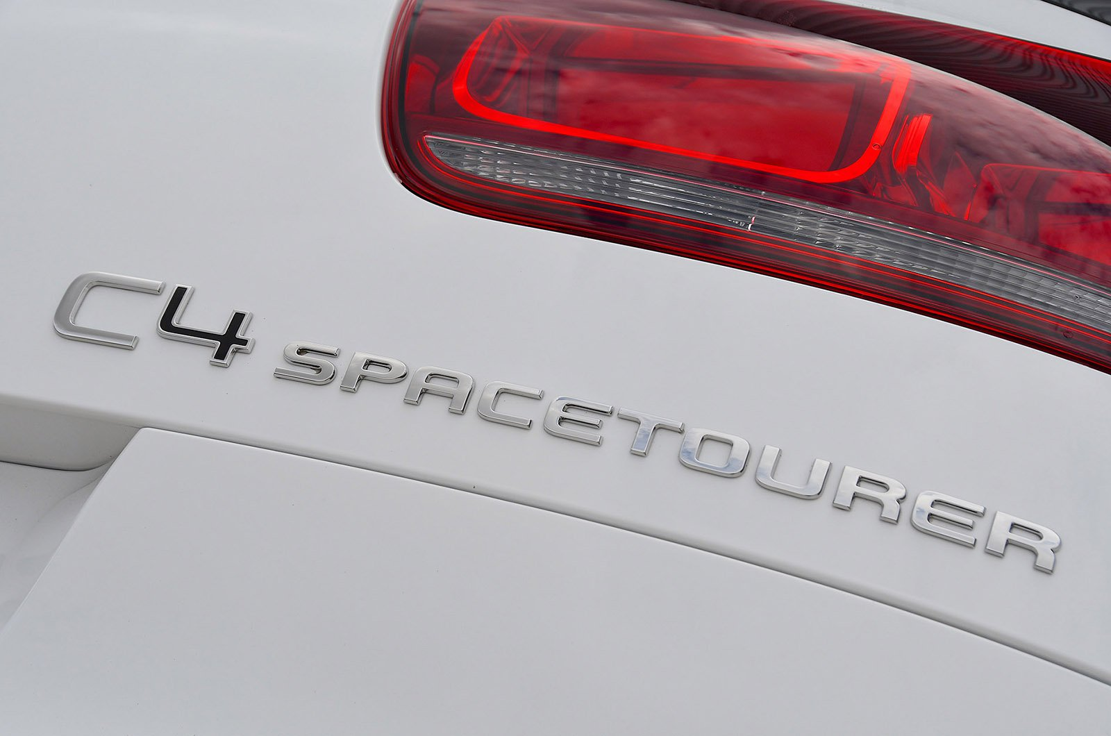 Citroën C4 Spacetourer badge