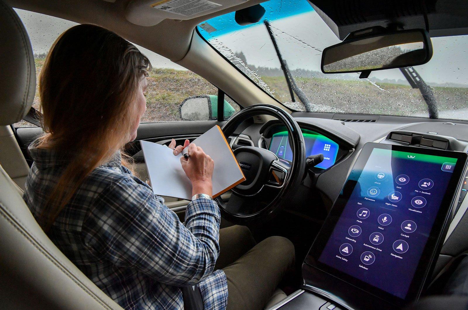 Thatcham autonomous driving