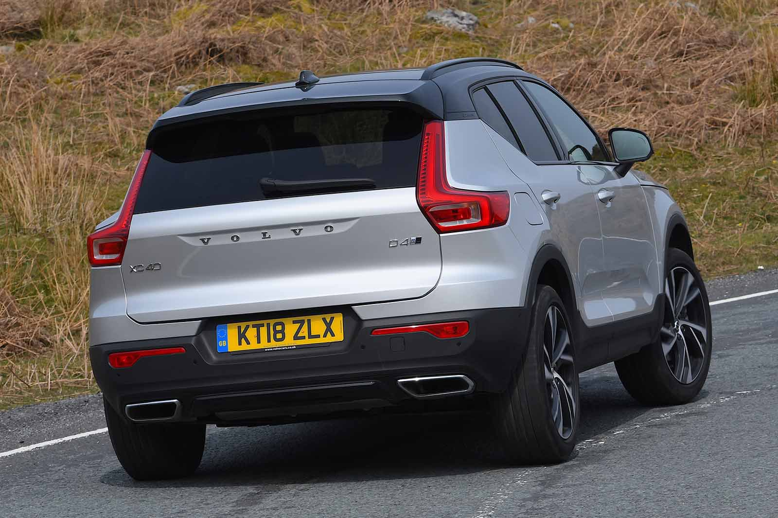 Volvo XC40 2019 rear cornering pic