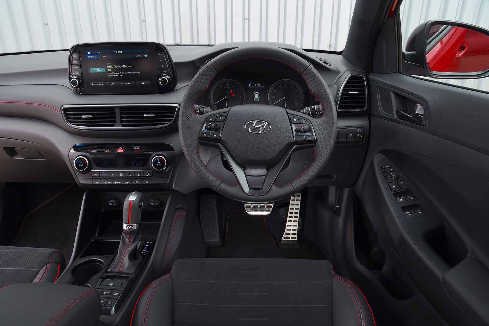 Hyundai Tucson Interior, Sat Nav, Dashboard | What Car?
