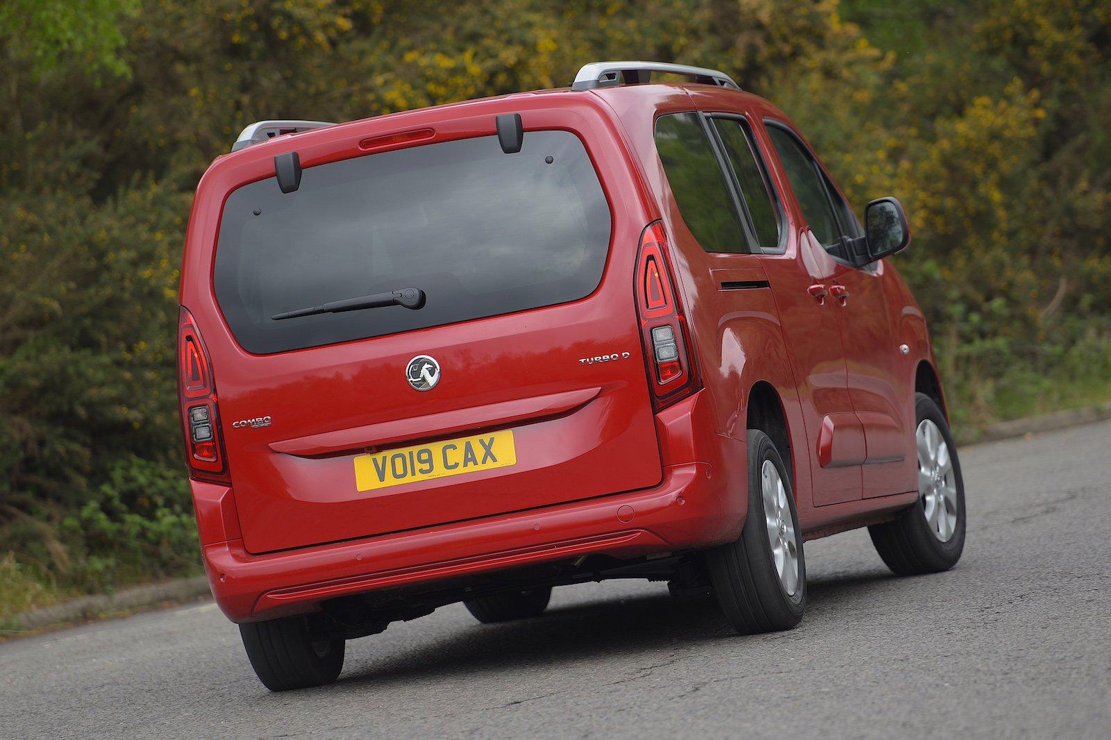 Vauxhall Combo Life Cornering Rear