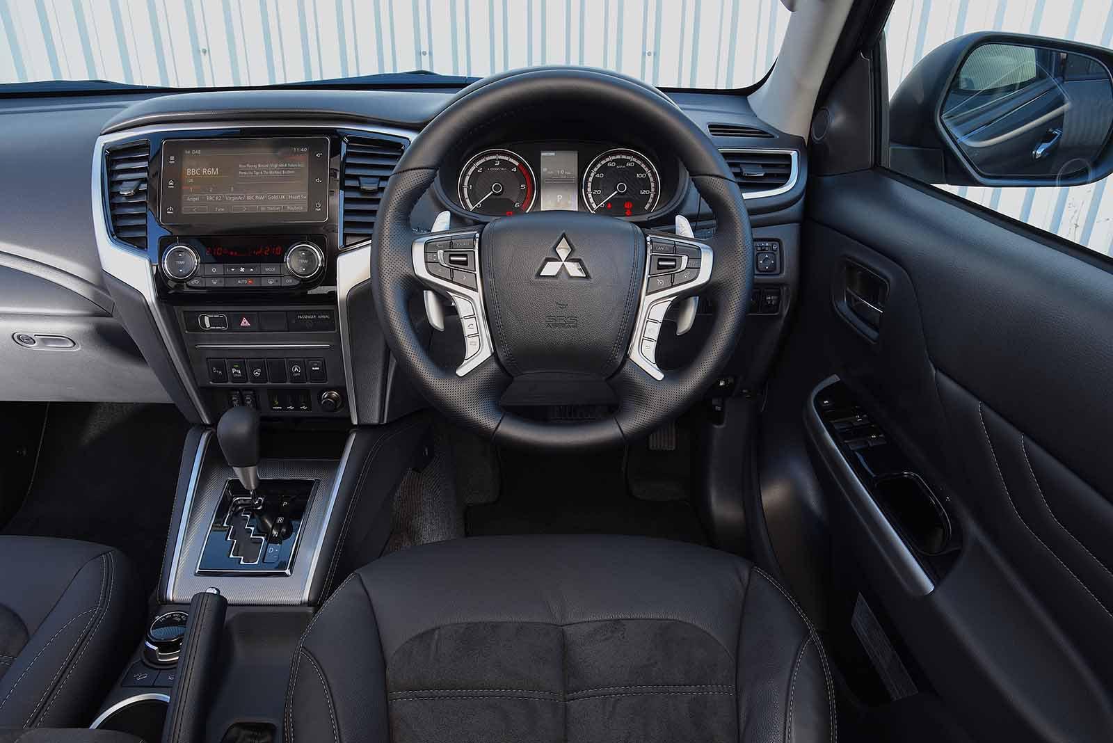 Mitsubishi L200 2019 RHD dashboard