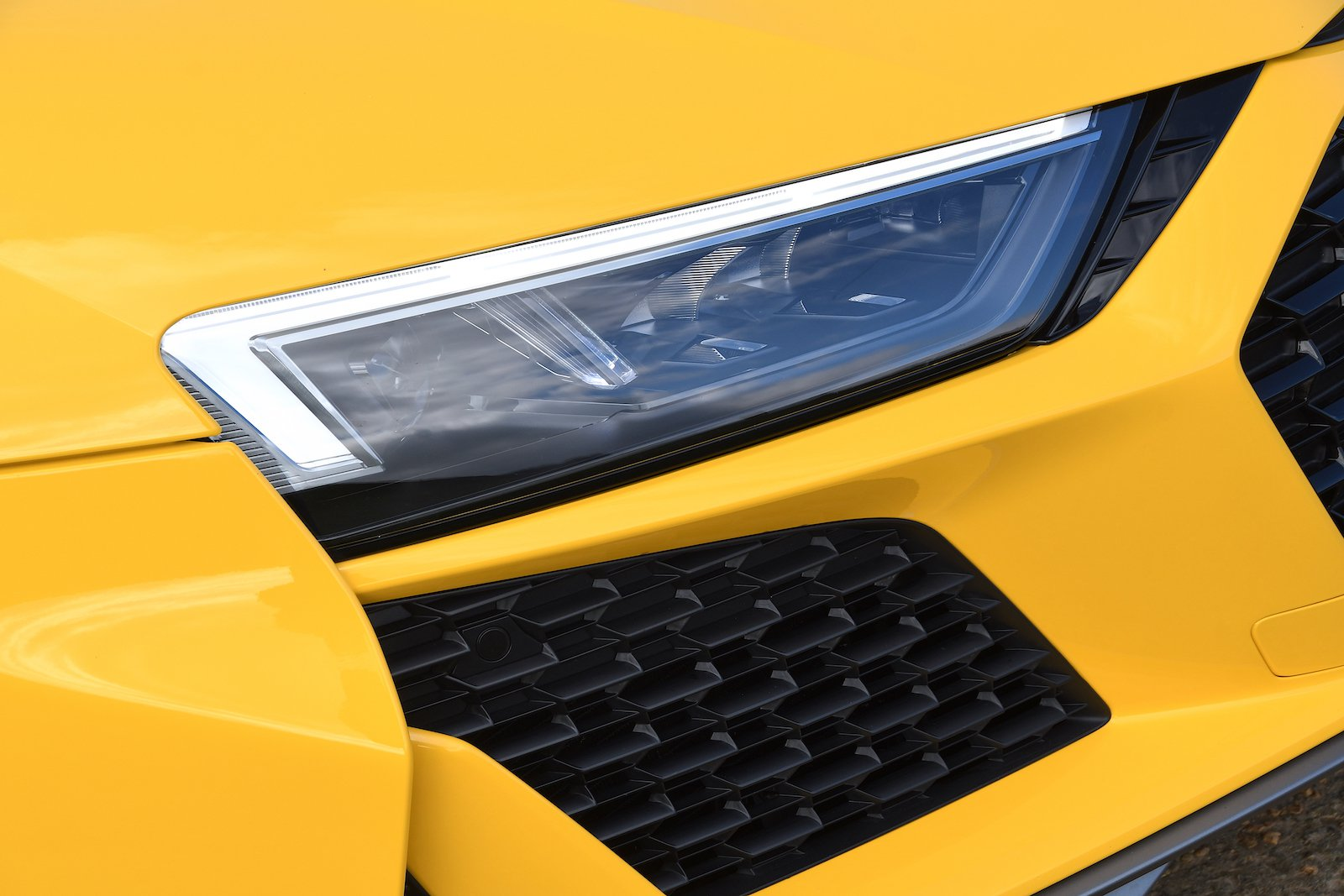 Audi R8 2019 headlamp detail