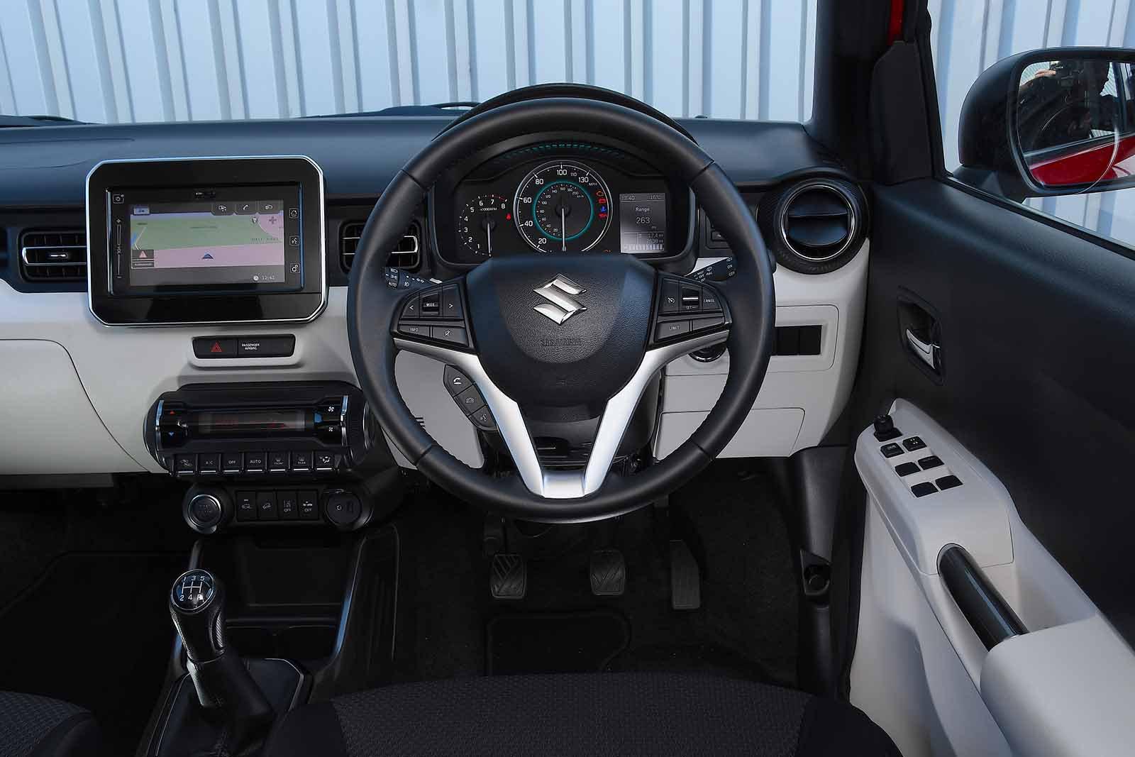 Suzuki Ignis 2019 RHD dashboard