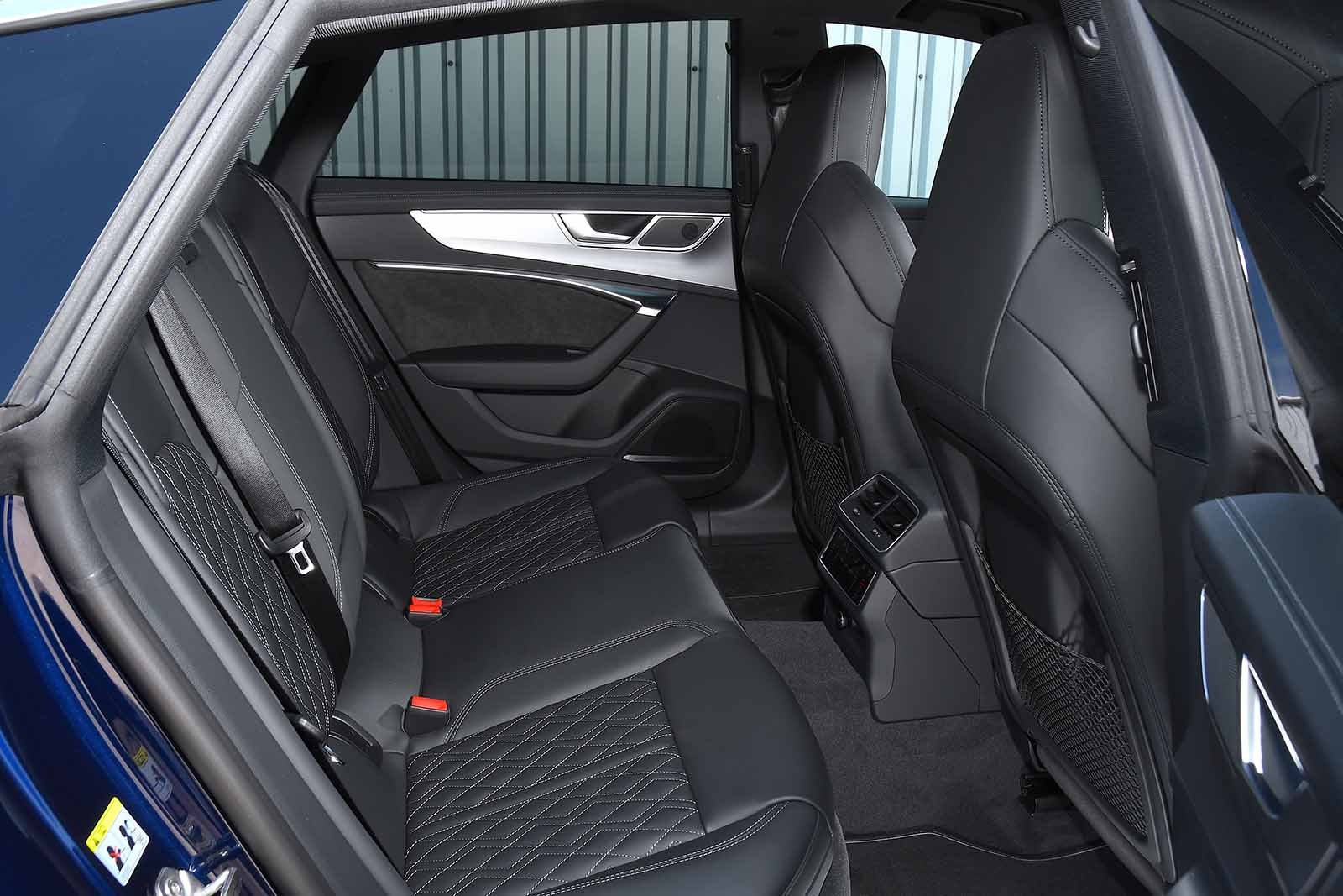 Audi S7 2019 RHD rear seats