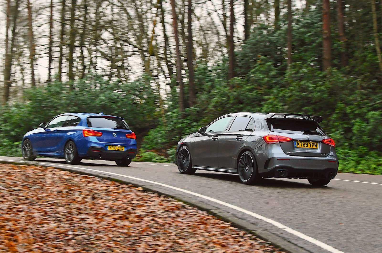 BMW M140i driving