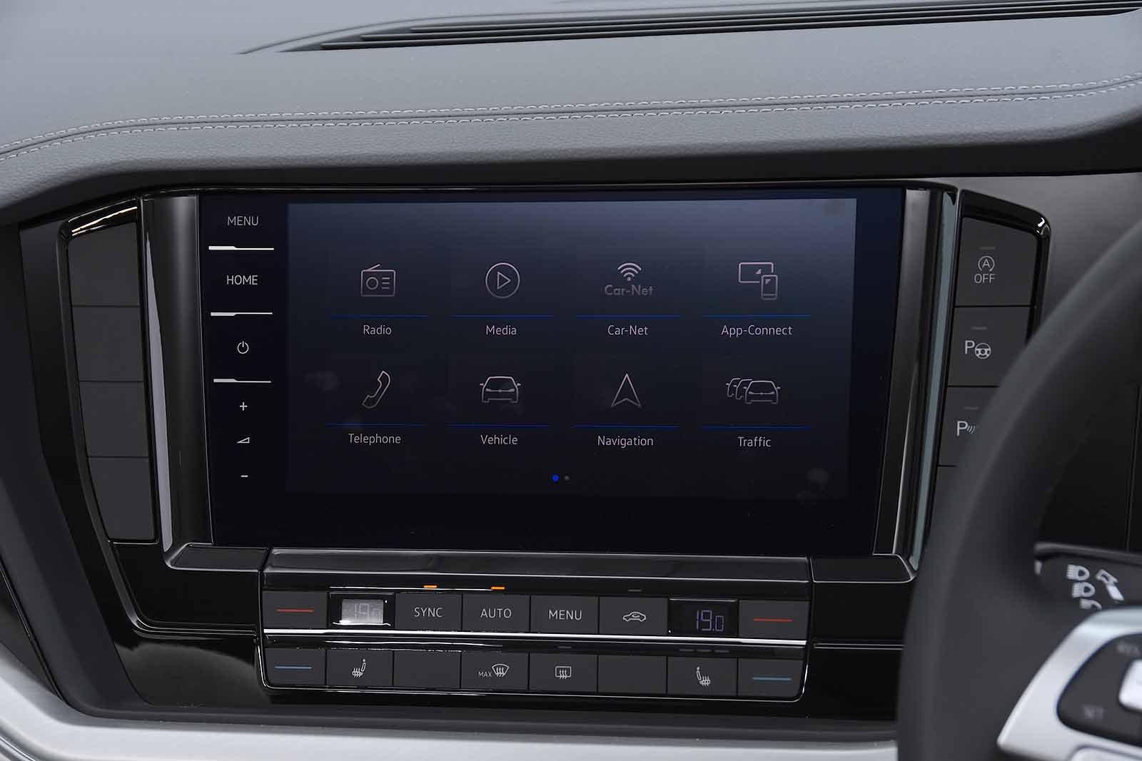 Volkswagen Touareg 2021 RHD infotainment