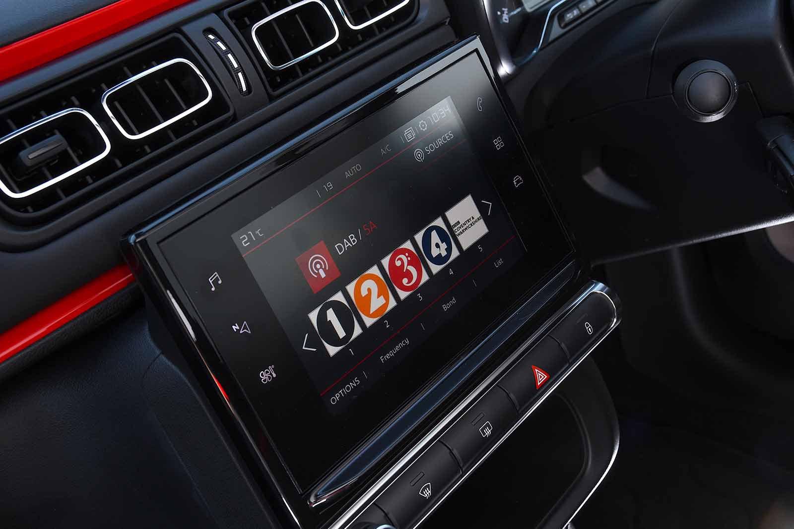 Citroen C3 2019 RHD infotainment