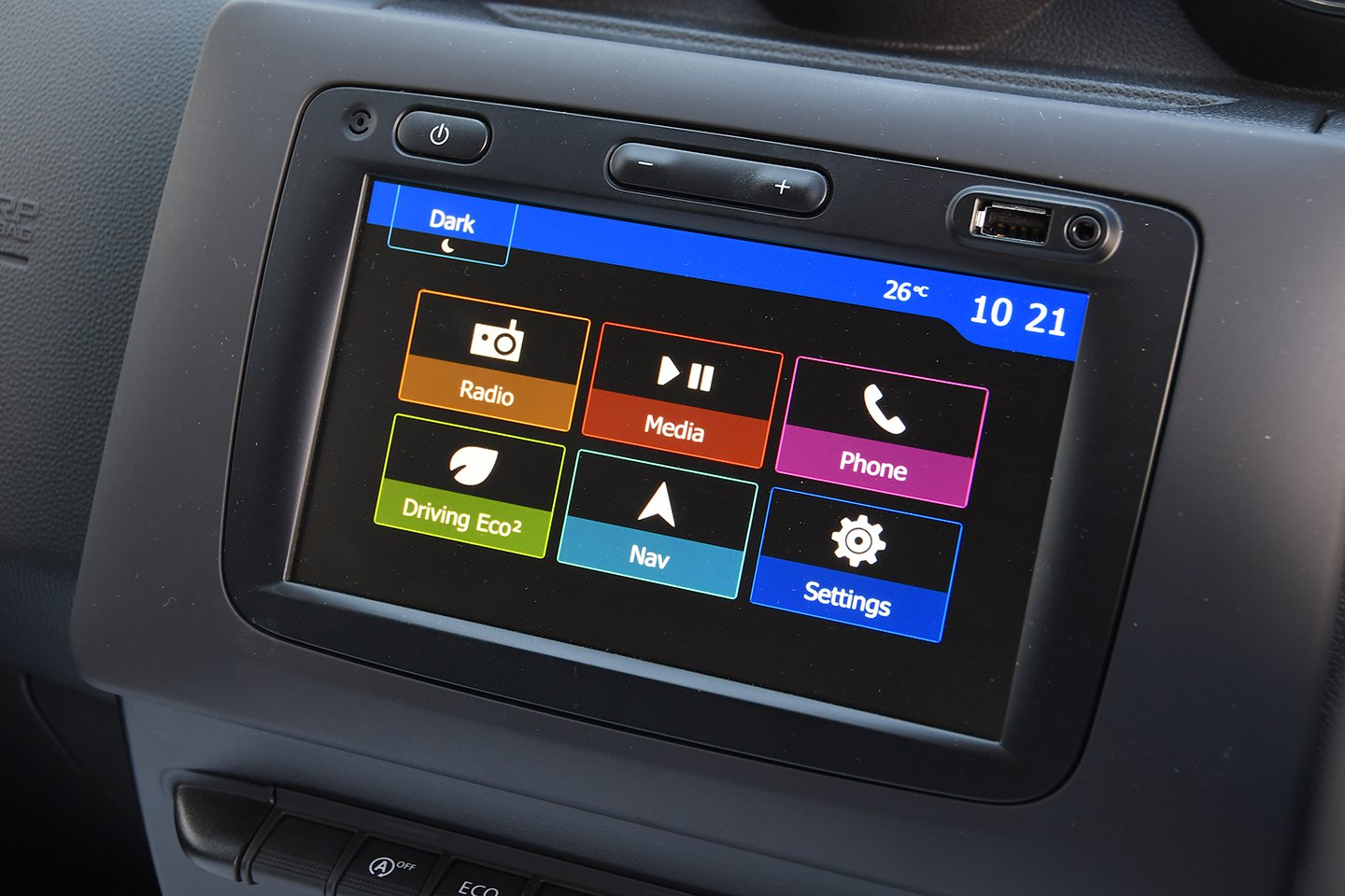Dacia Duster 2020 touchscreen