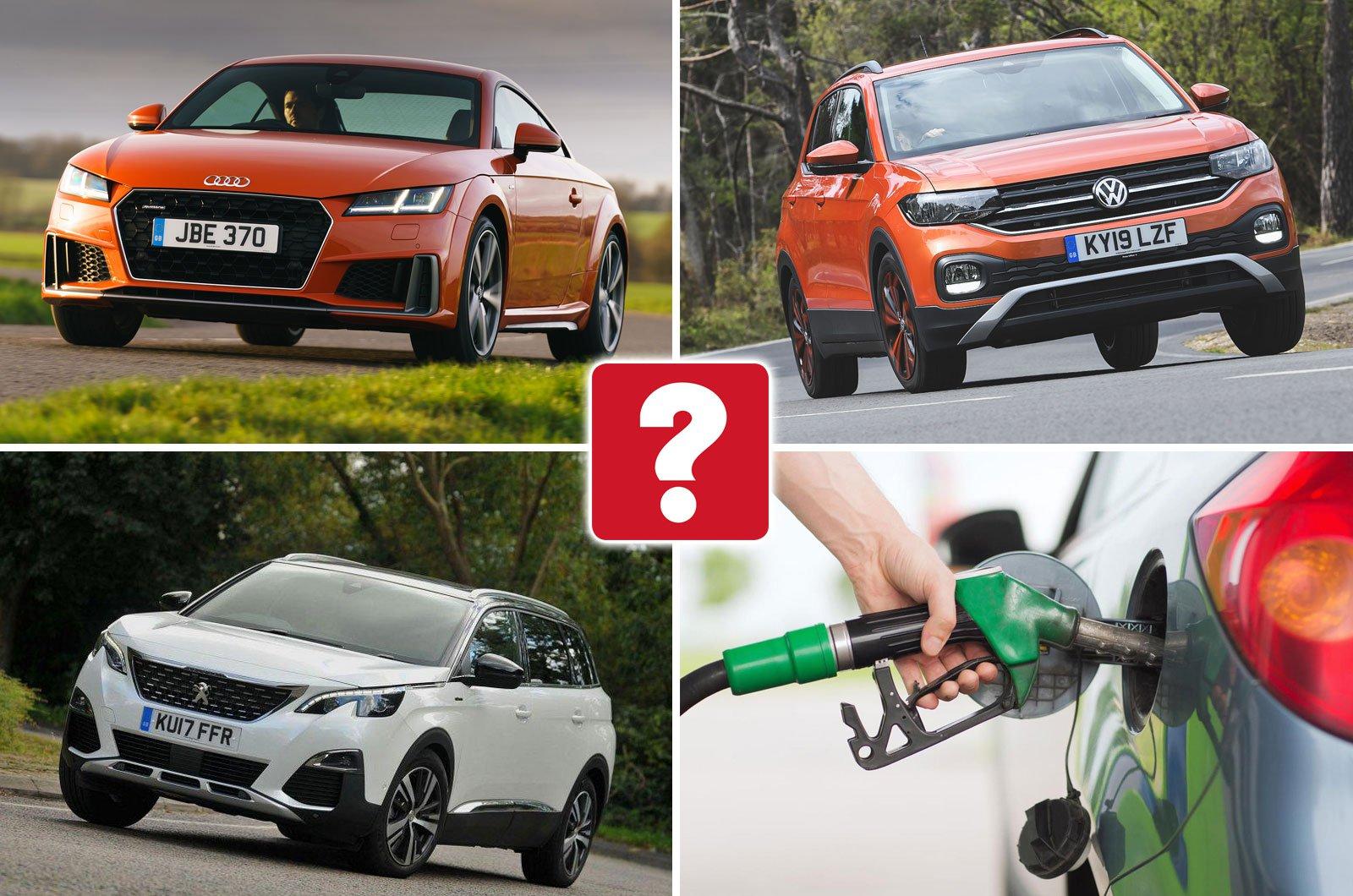 Audi TT, Volkswagen T-Cross, Peugeot 5008