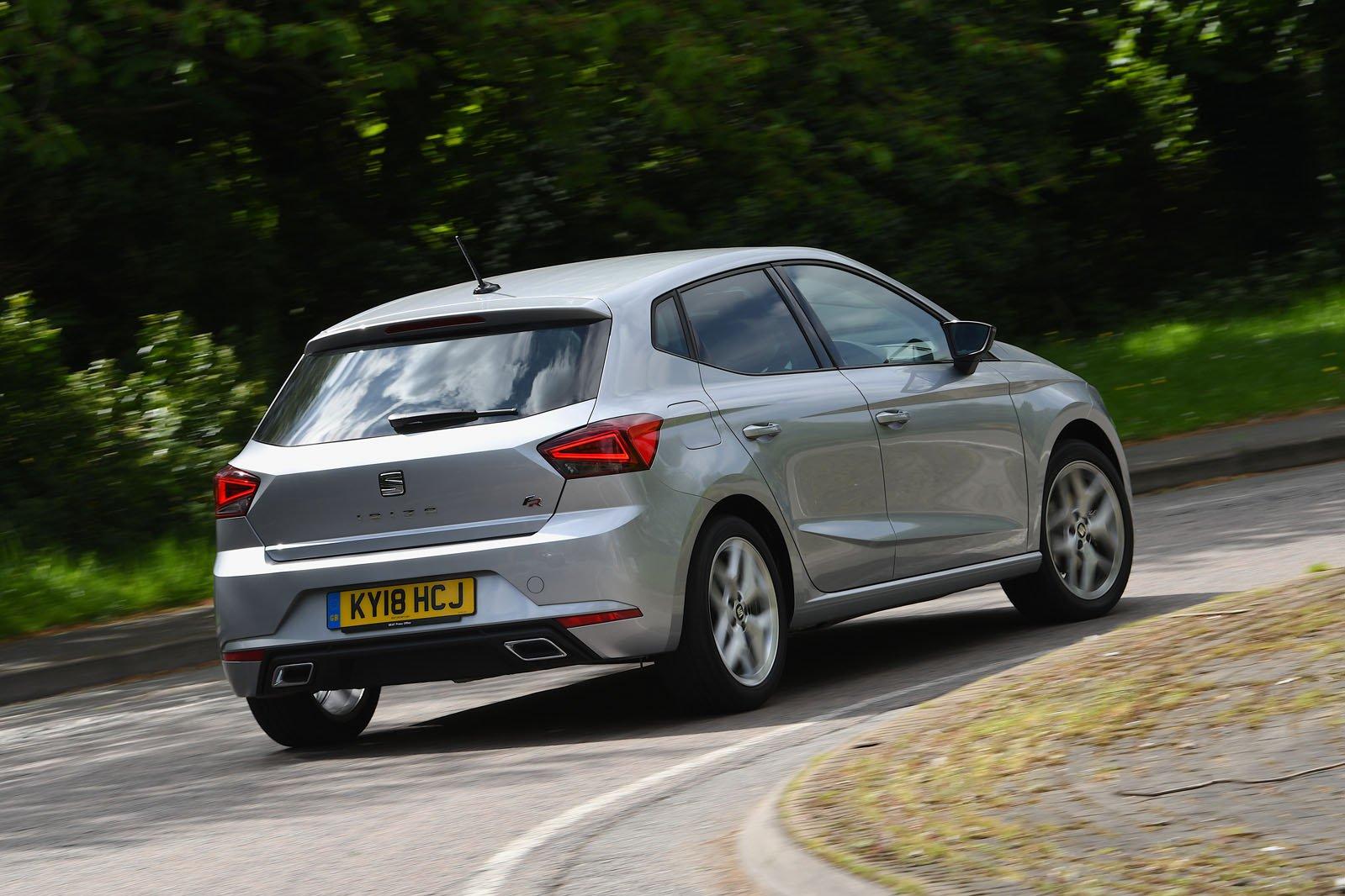 Seat Ibiza 2018 wide rear cornering shot