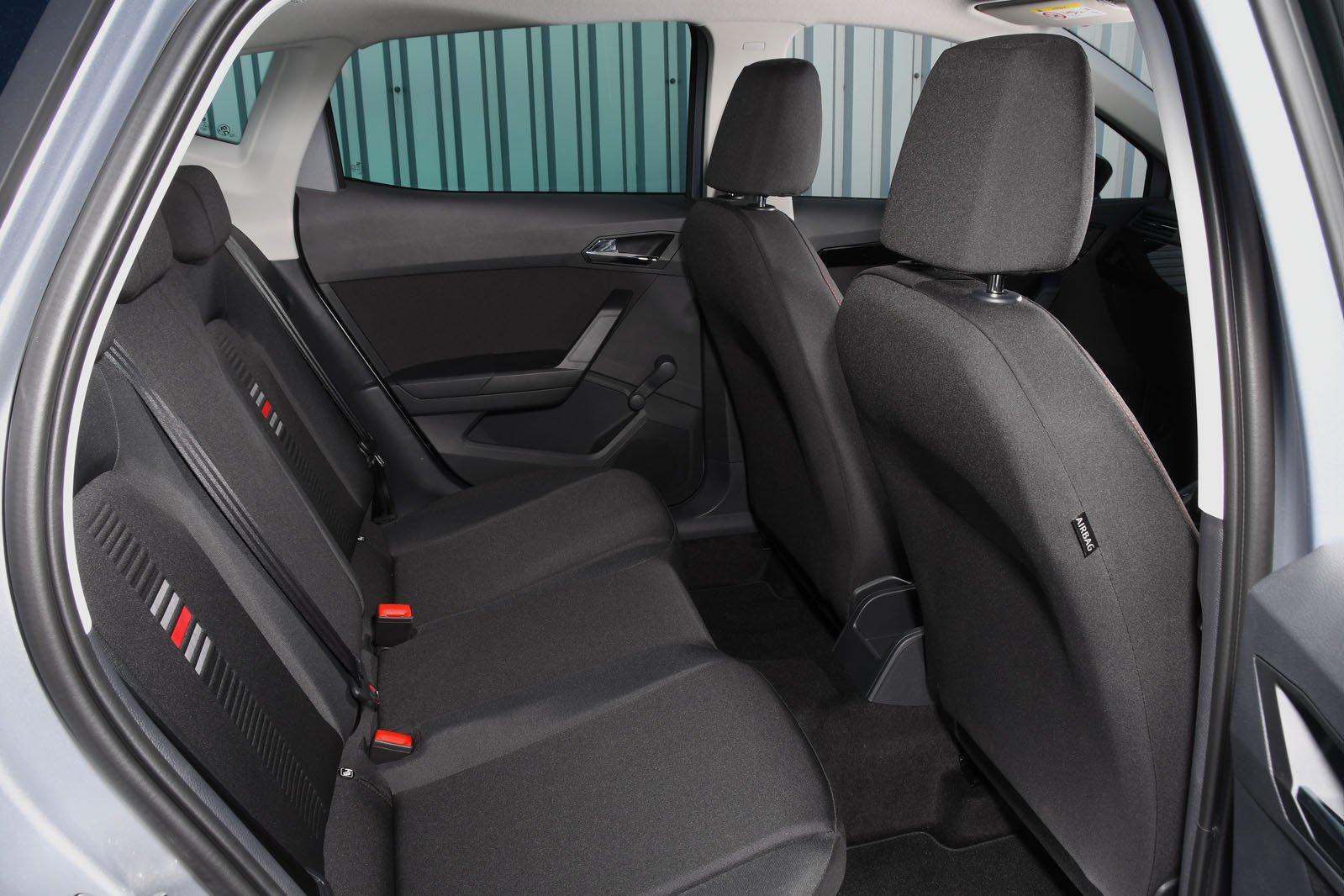 Seat Ibiza 2018 RHD rear seats