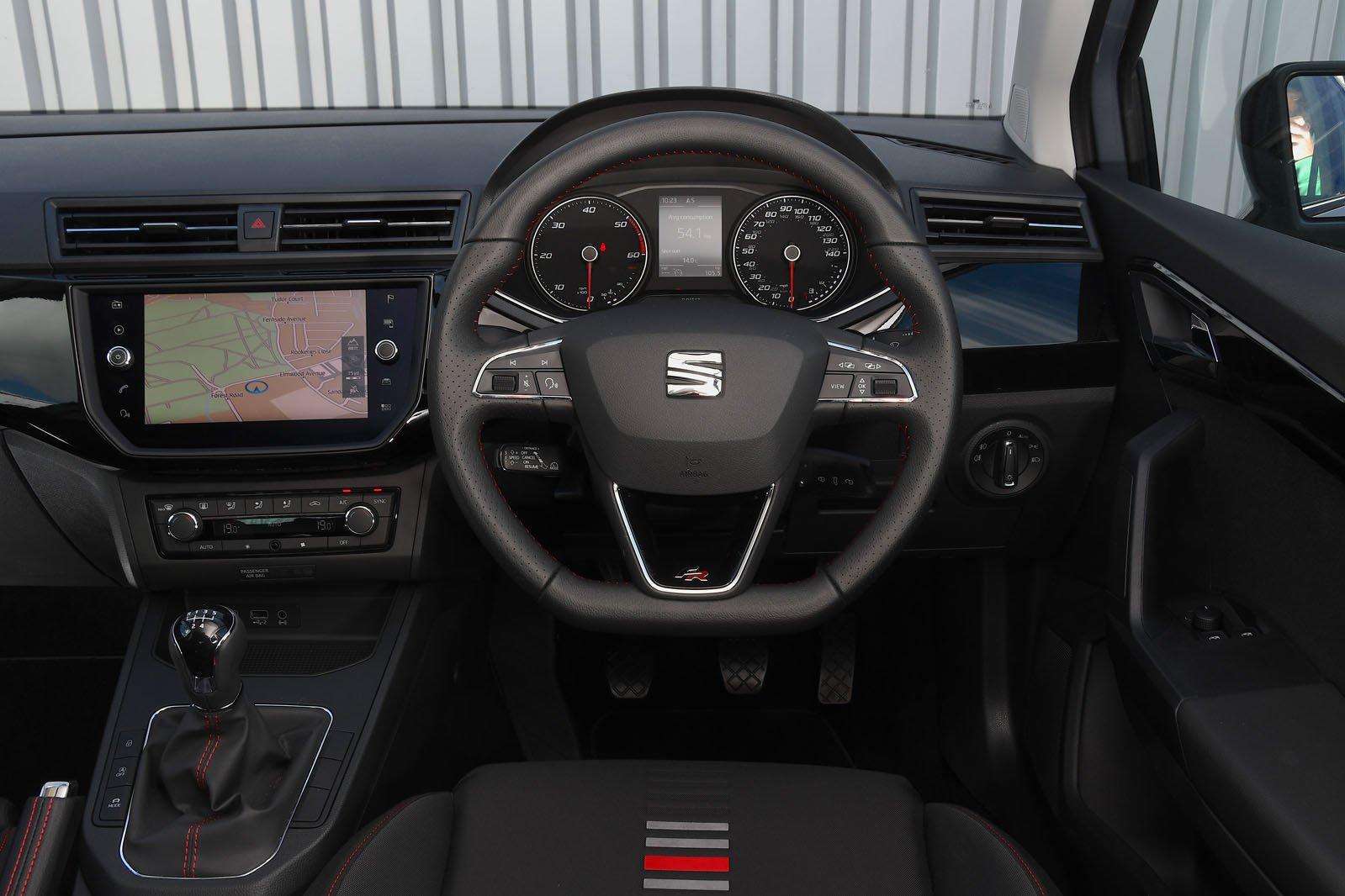 Seat Ibiza 2018 RHD dashboard