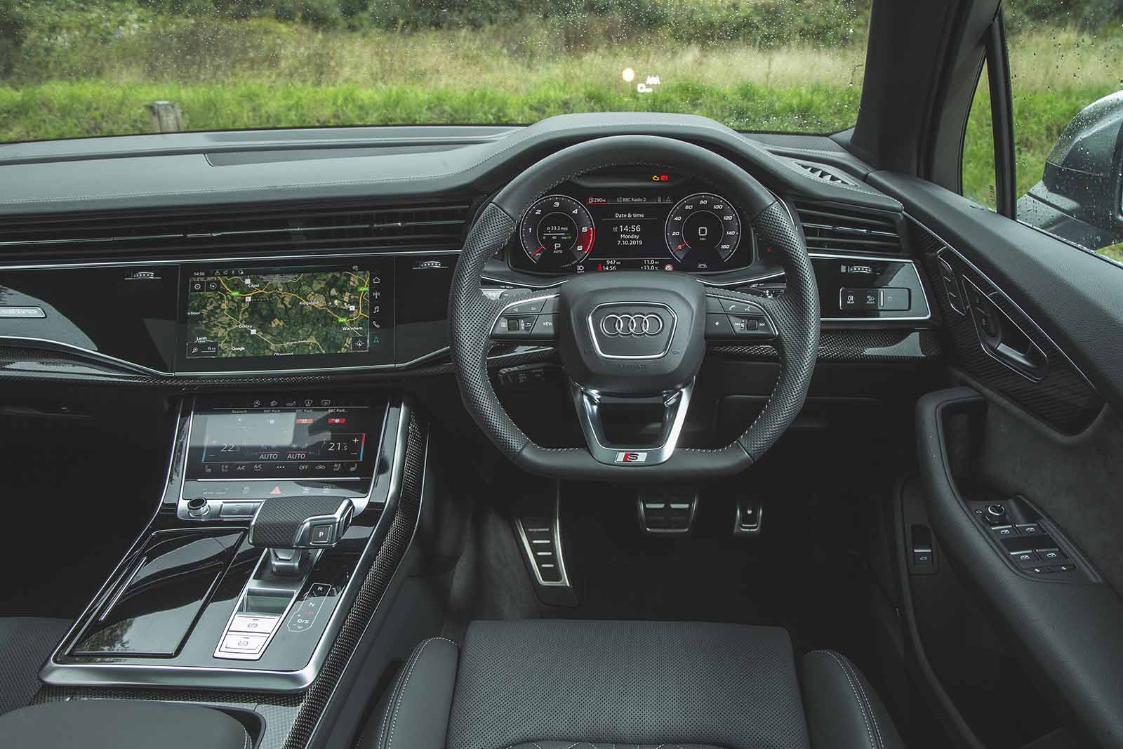 Audi SQ7 2019 RHD dashboard