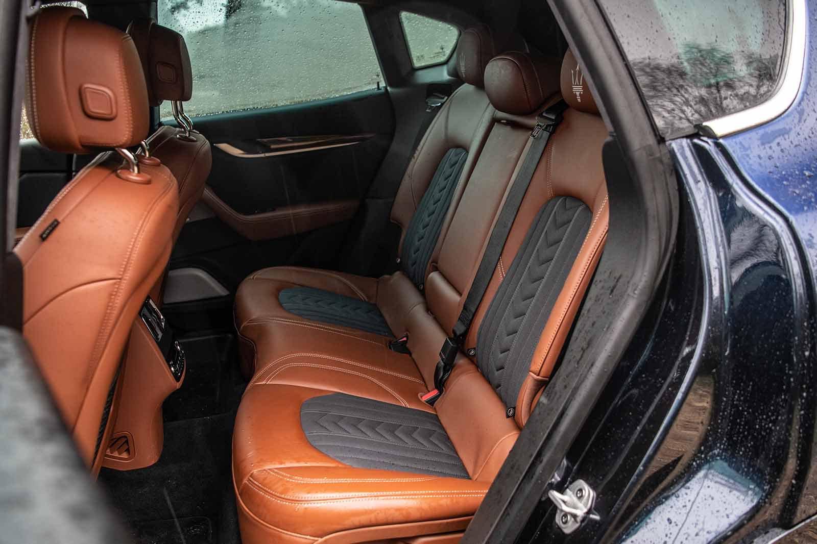 Maserati Levante 2019 RHD rear seats