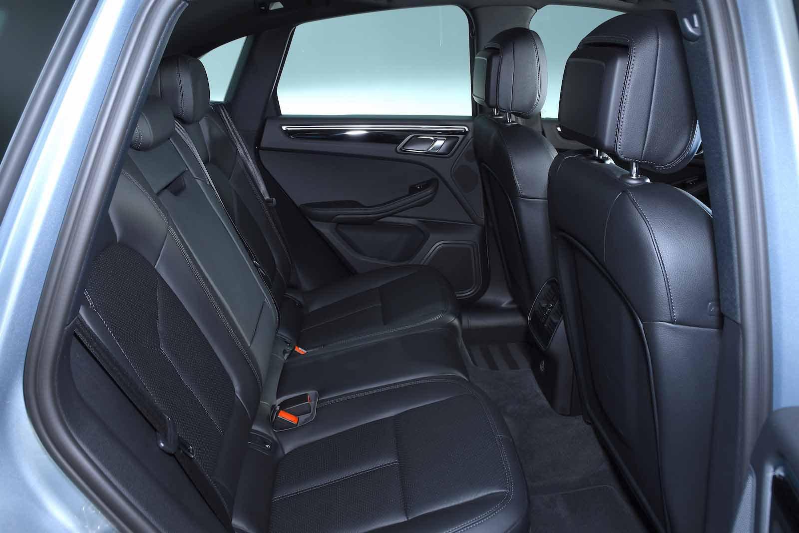 2019 Porsche Macan RHD rear seats