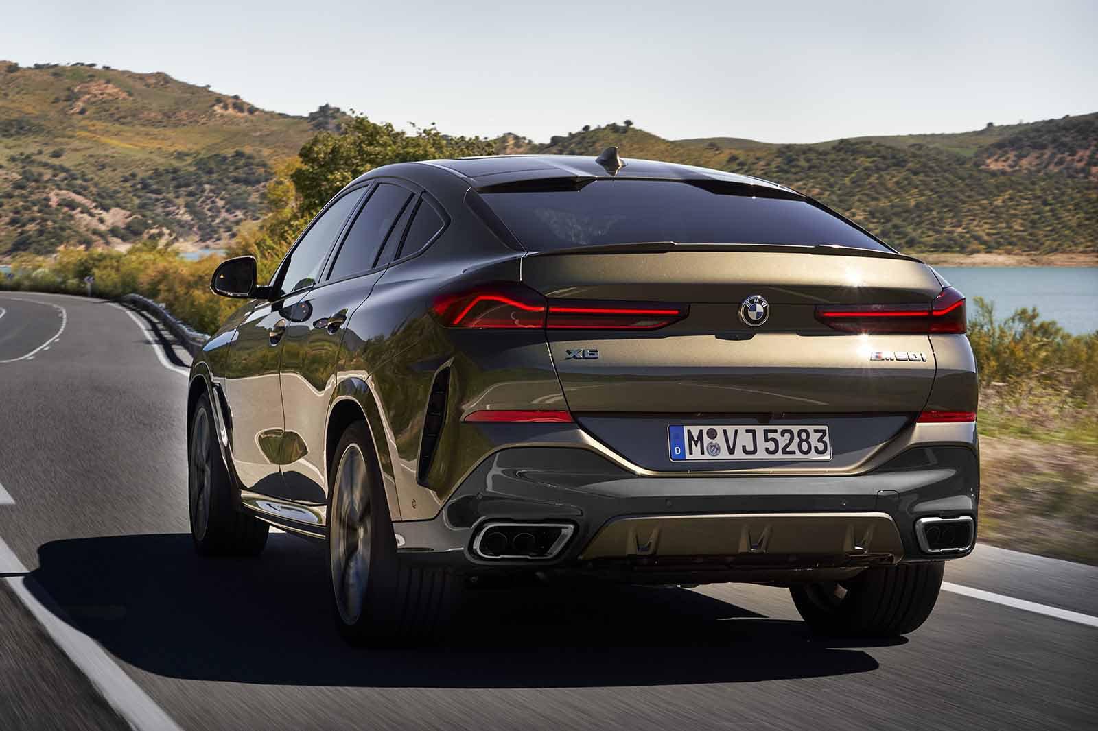 BMW X6 2019 LHD rear tracking
