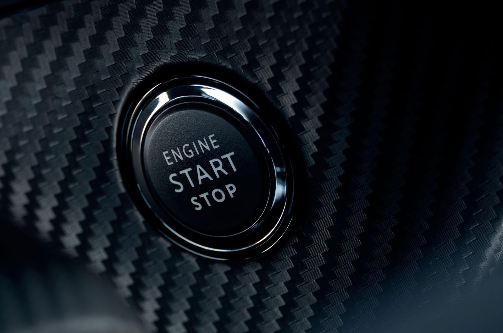 Peugeot engine start button
