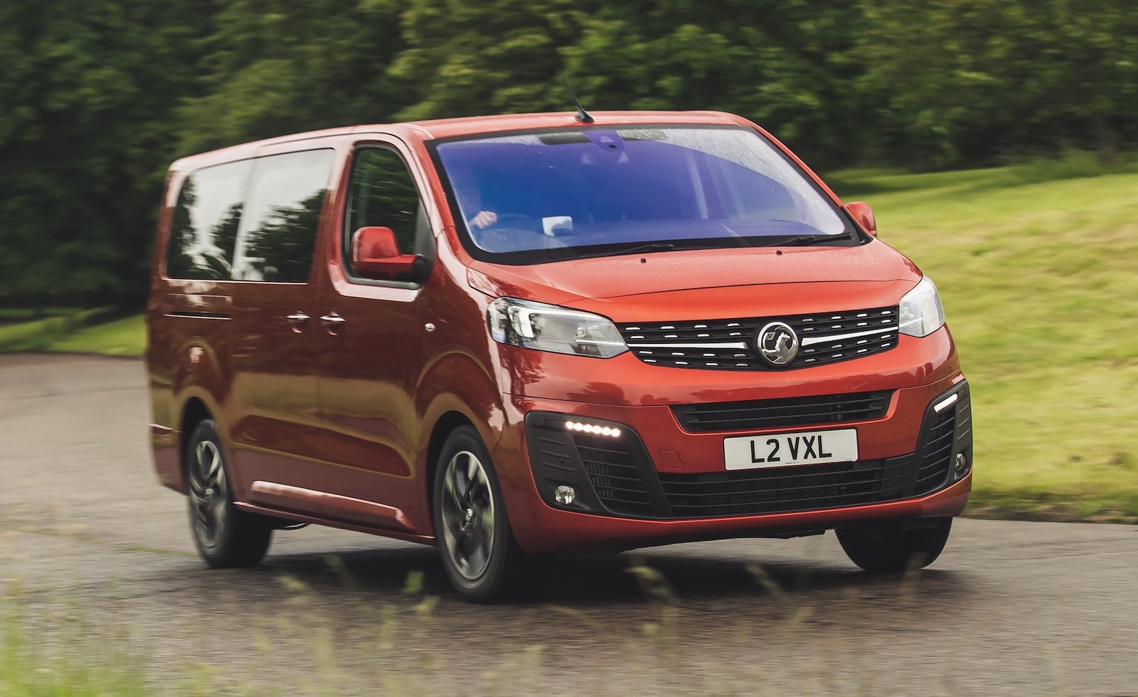 2019 Vauxhall Vivaro Life front