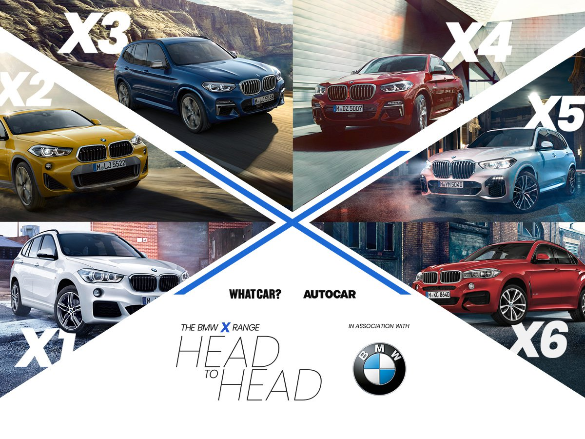 Want to know which model from BMW's range of stylish and sporty SUVs is right for you? We've got the answer