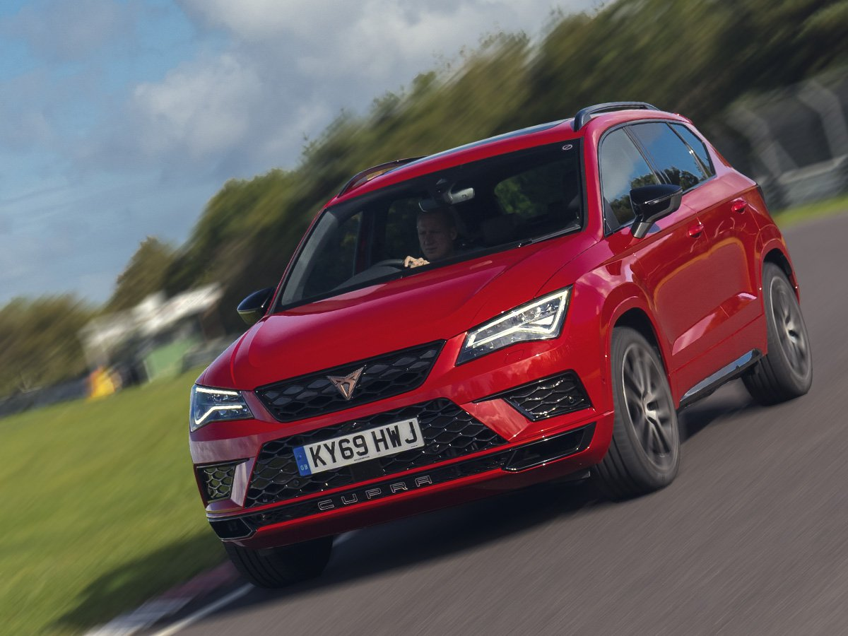 Our readers got the chance to drive the pace-setting CUPRA Ateca performance SUV at Castle Combe