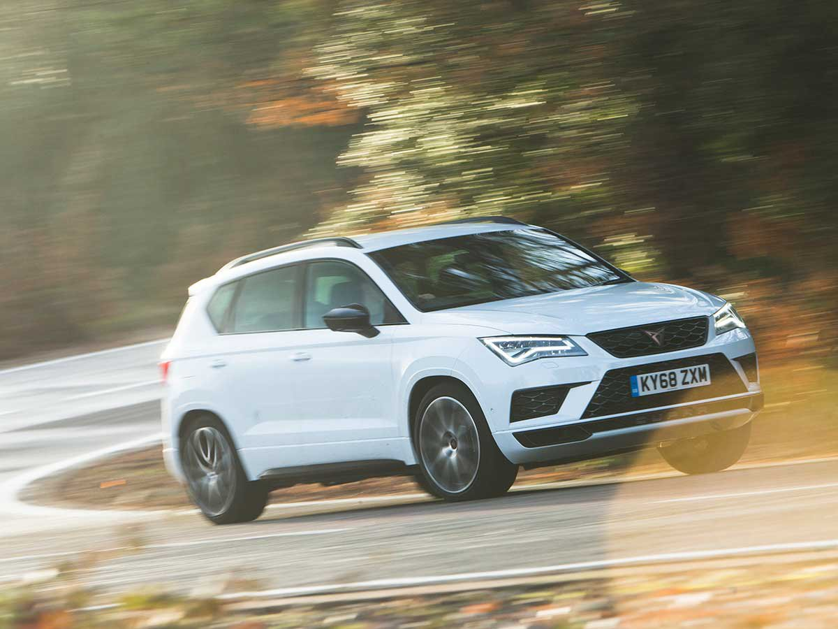 We're giving you the chance to get behind the wheel of the all-new CUPRA Ateca at Castle Combe