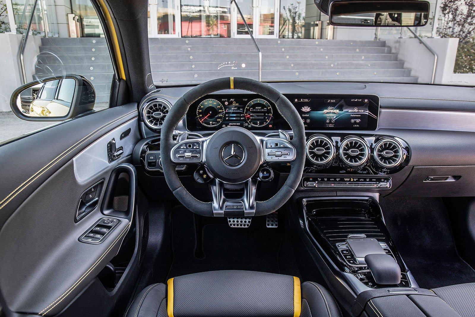 Mercedes-AMG A45 2019 LHD dashboard